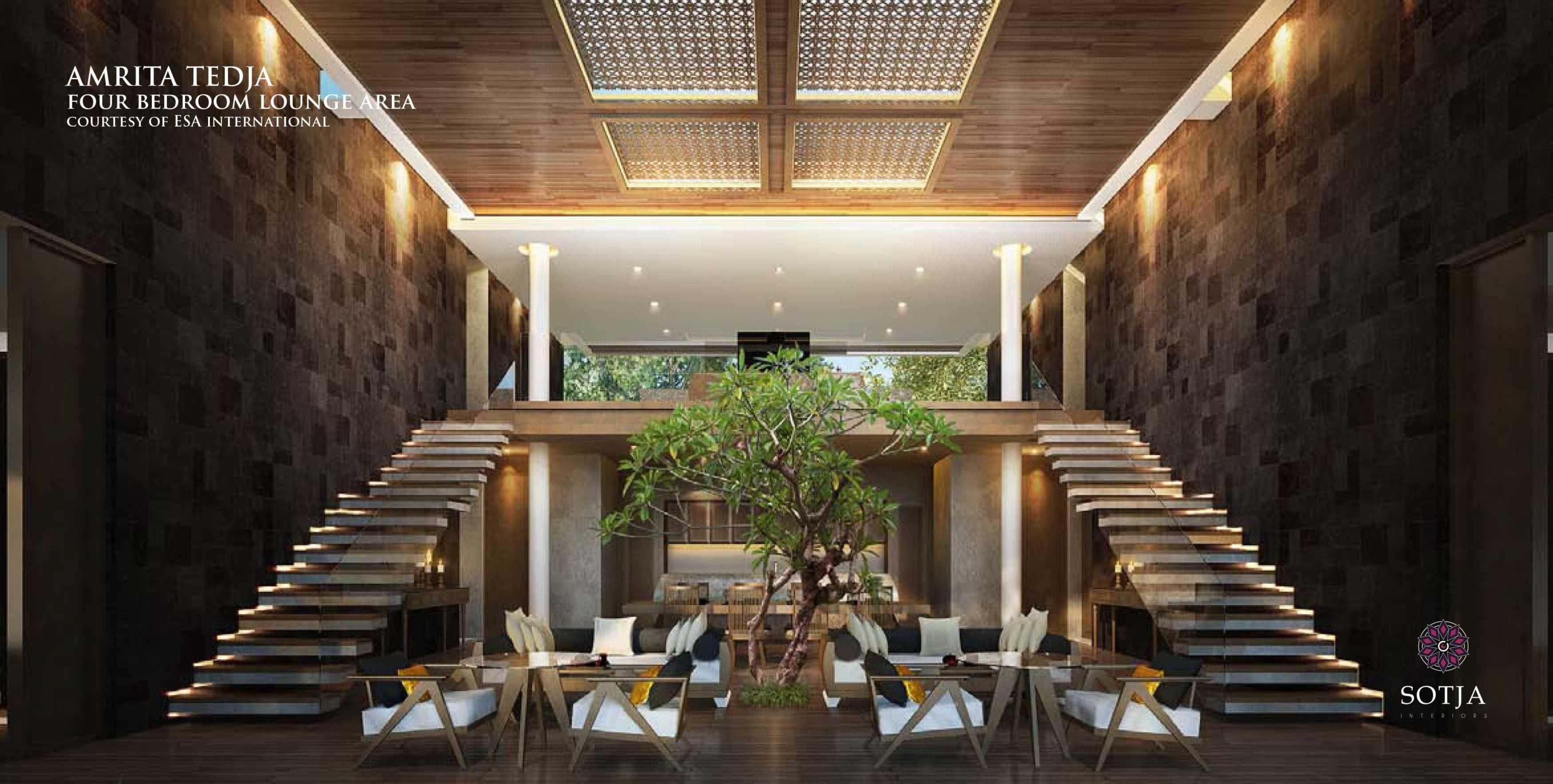 Sotja Interiors Amrita Tedja At Ubud Bali, Indonesia Bali, Indonesia Four Bedroom Lounge Area   8721
