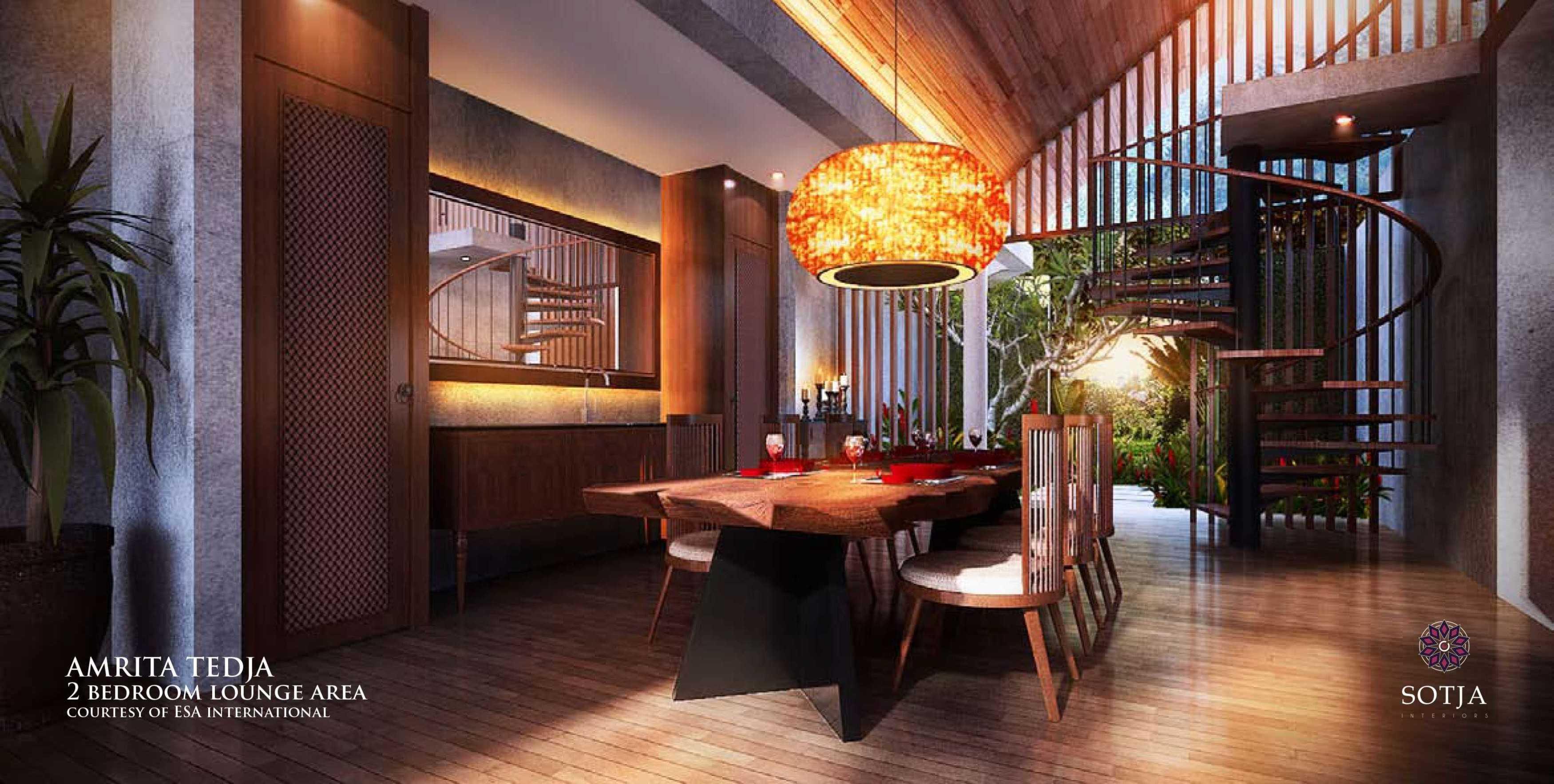 Sotja Interiors Amrita Tedja At Ubud Bali, Indonesia Bali, Indonesia 2 Bedroom Lounge Area   8722