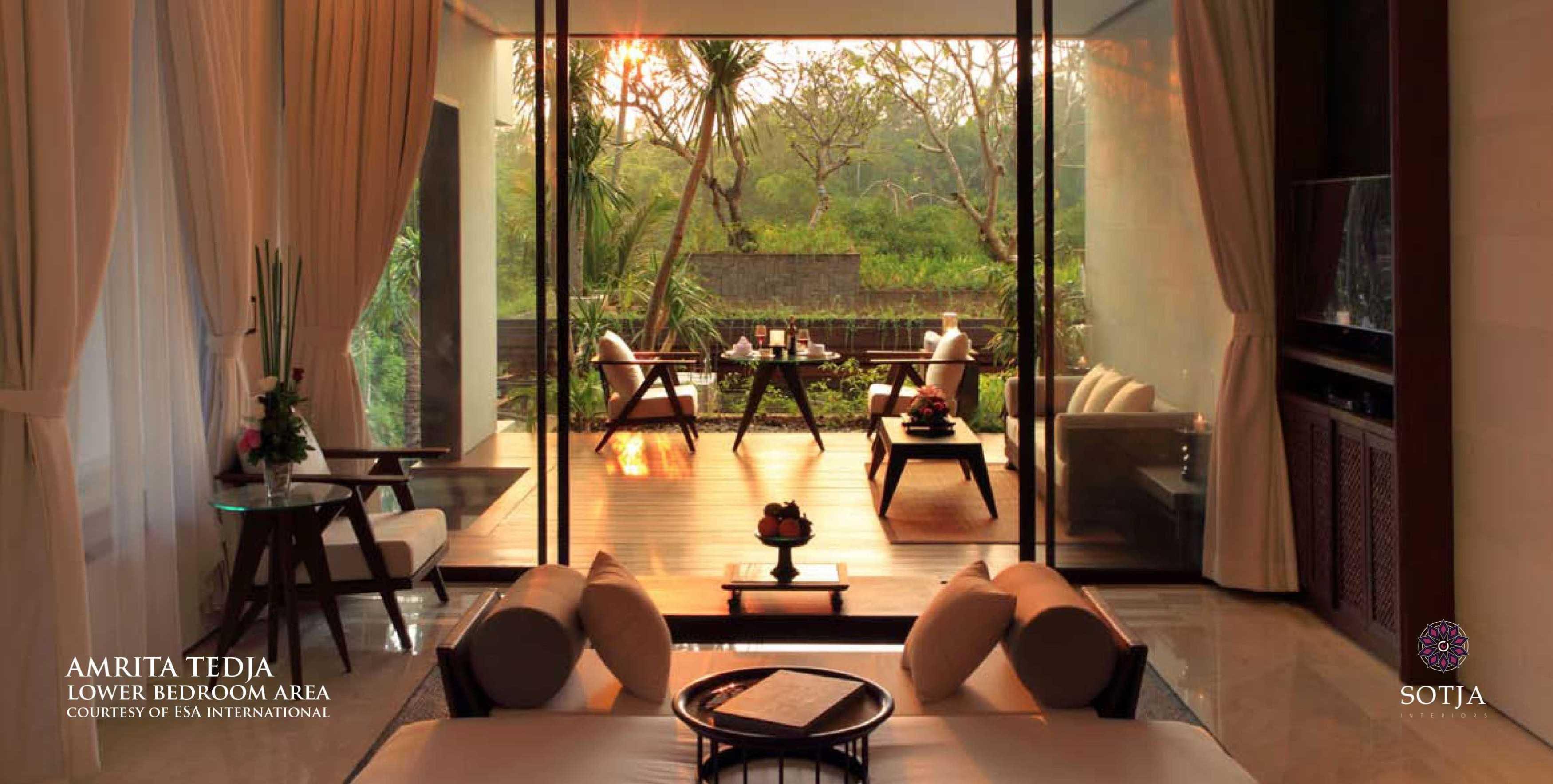 Sotja Interiors Amrita Tedja At Ubud Bali, Indonesia Bali, Indonesia Lower Bedroom Area   8725
