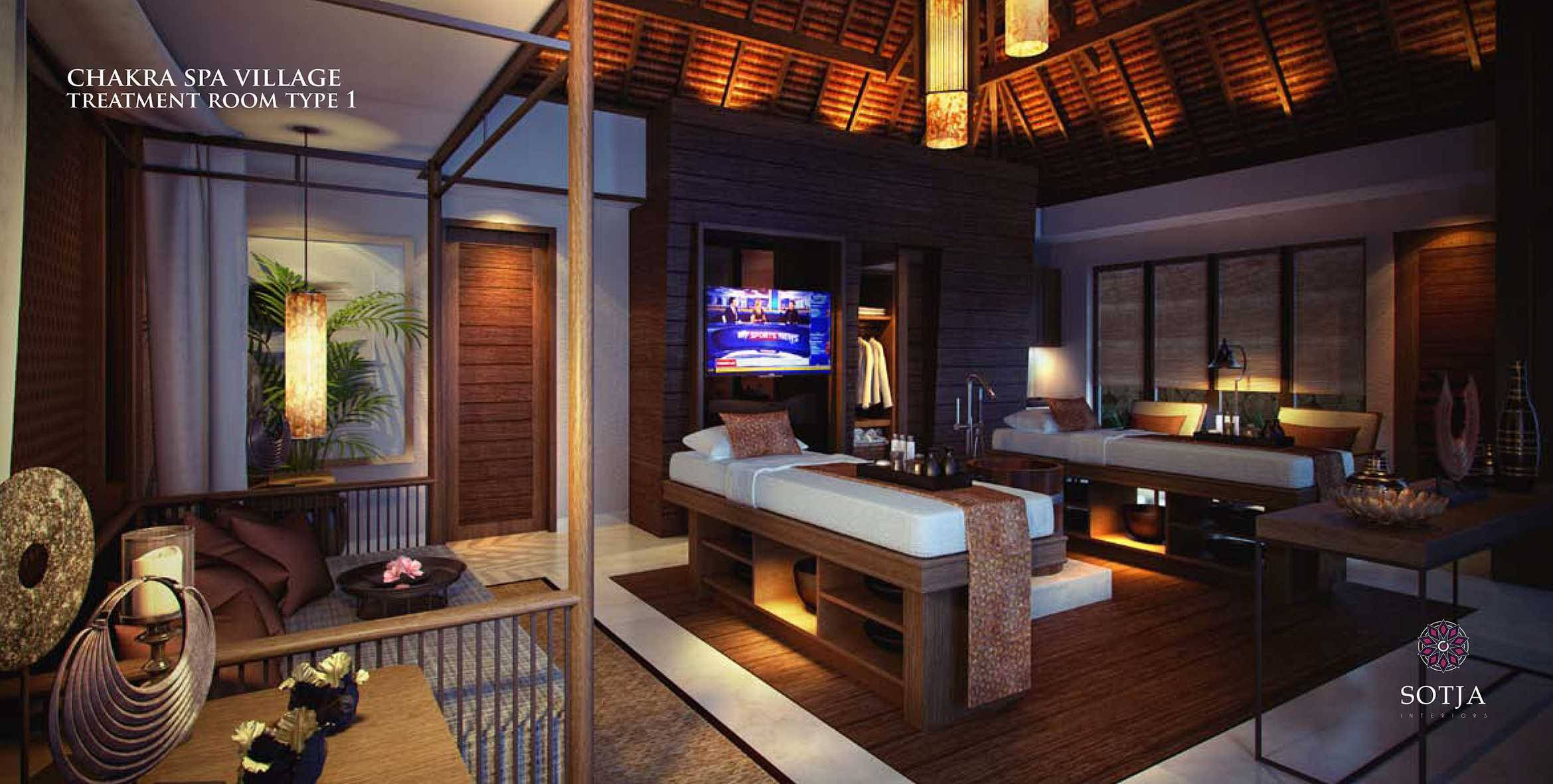 Sotja Interiors Chakra Spa Village At Batam Riau, Indonesia Riau, Indonesia Treatment-Room-Type-1   9919
