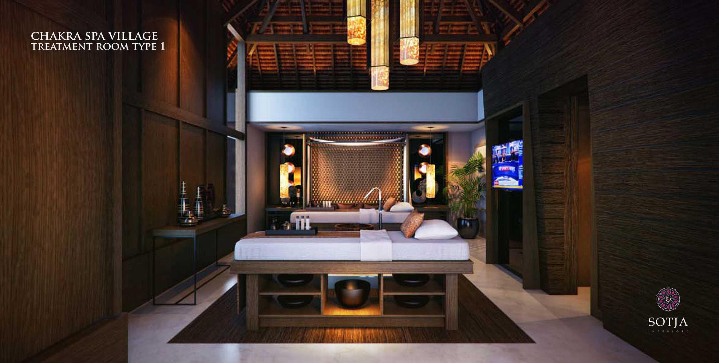 Sotja Interiors Chakra Spa Village At Batam Riau, Indonesia Riau, Indonesia Treatment-Room-Type-1B   9920
