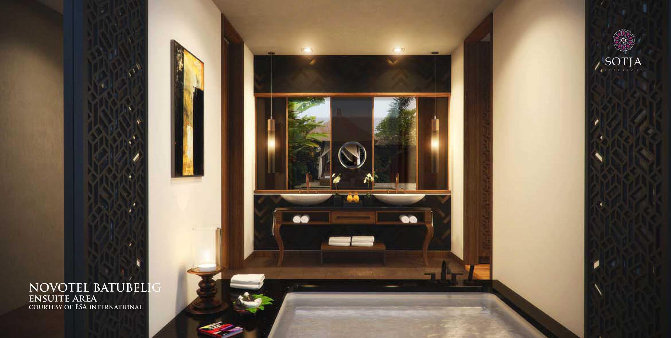 Sotja Interiors Novotel At Batu Belig Bali, Indonesia Bali, Indonesia Ensuite-Area Kontemporer  9947