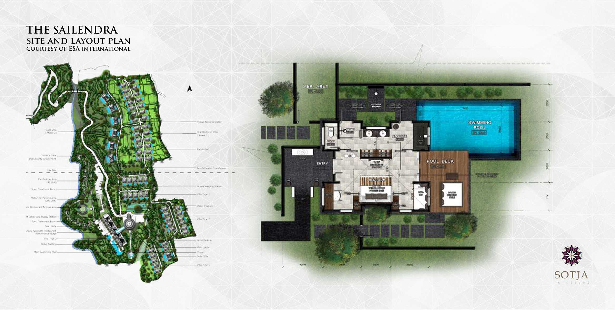 Sotja Interiors The Sailendra At Payangan Ubud Bali, Indonesia Bali, Indonesia Site-And-Layout-Plan   9948