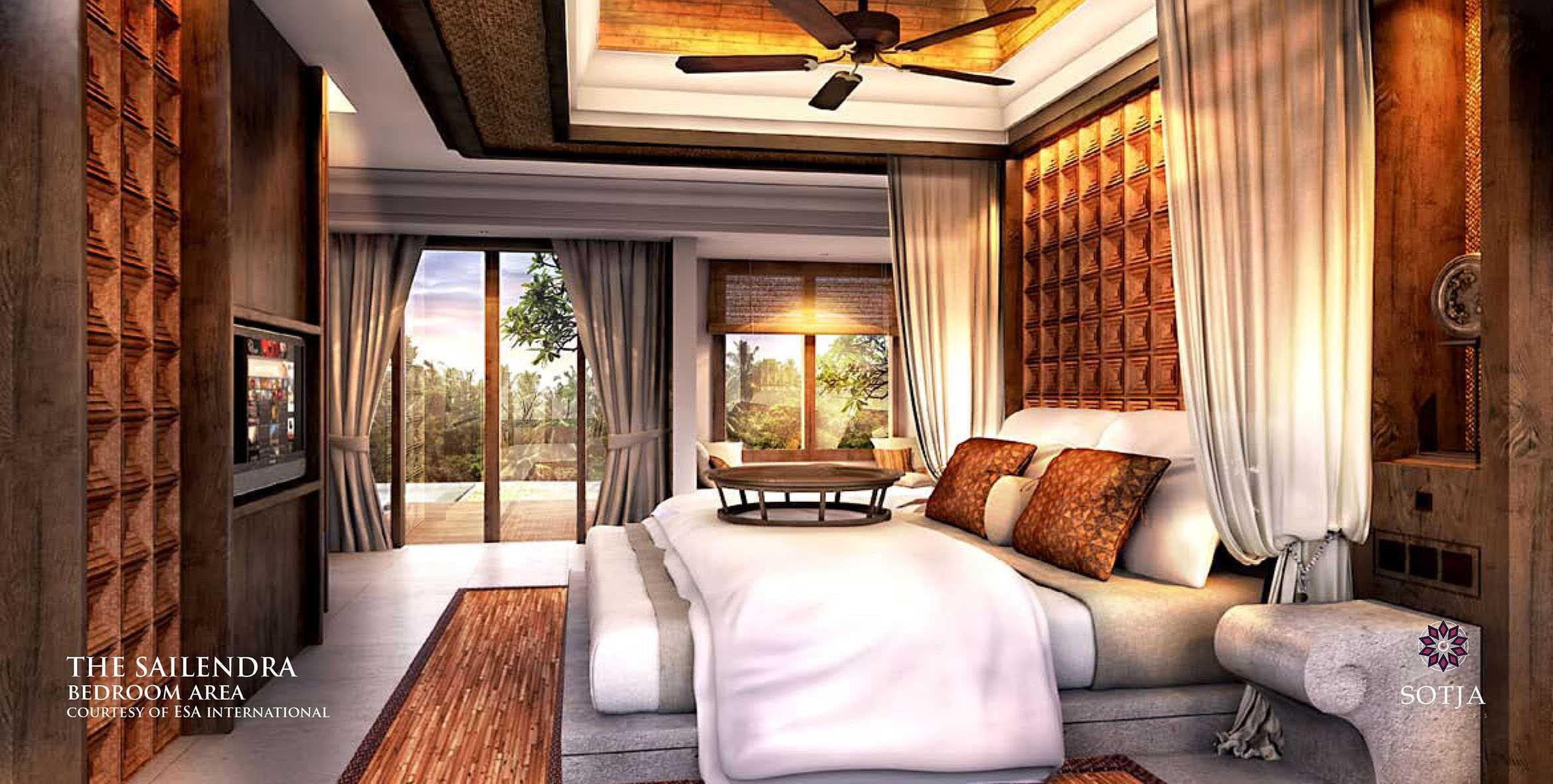 Sotja Interiors The Sailendra At Payangan Ubud Bali, Indonesia Bali, Indonesia Bedroom-Area   9952