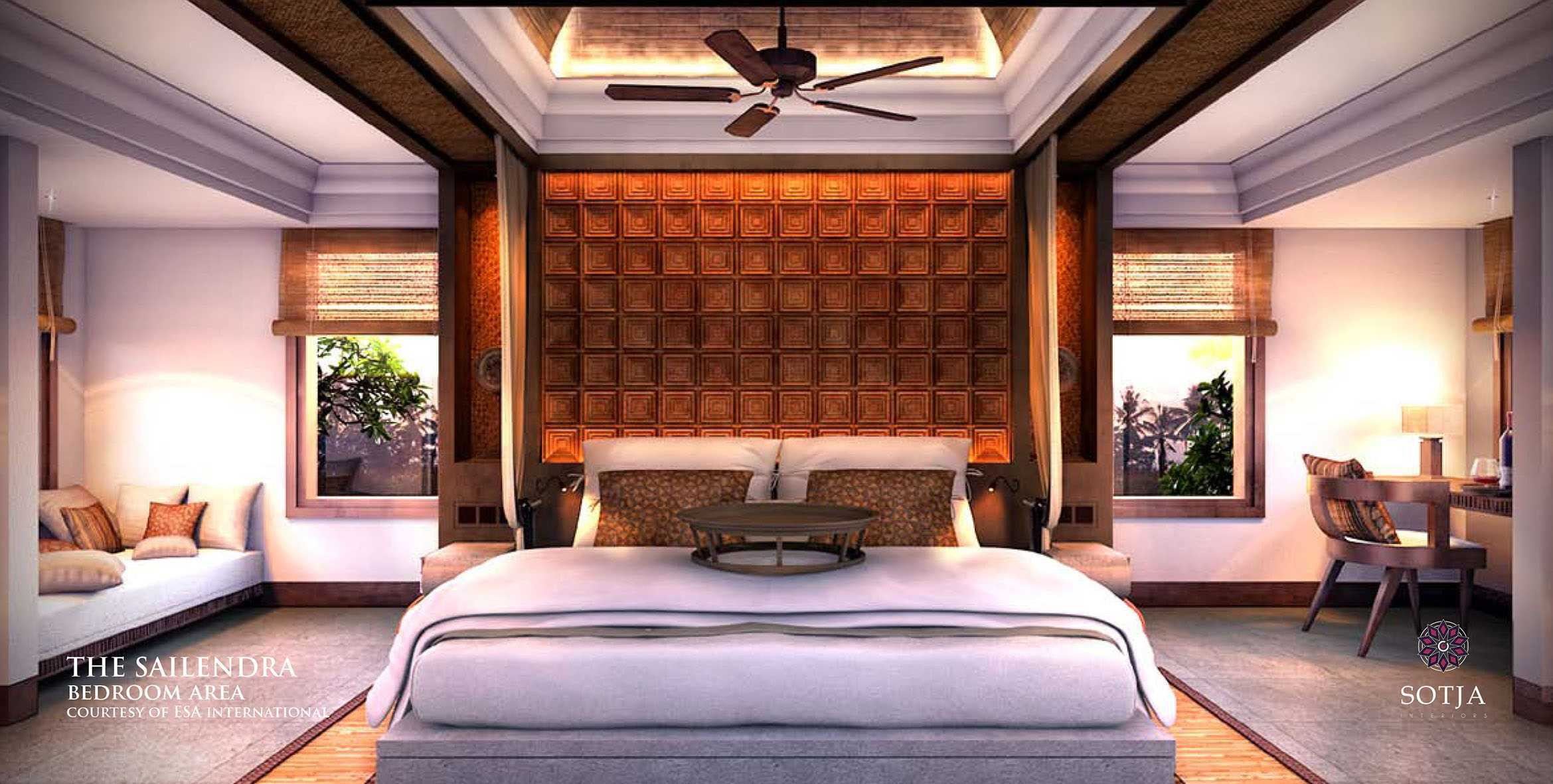 Sotja Interiors The Sailendra At Payangan Ubud Bali, Indonesia Bali, Indonesia Bedroom-Area2   9953