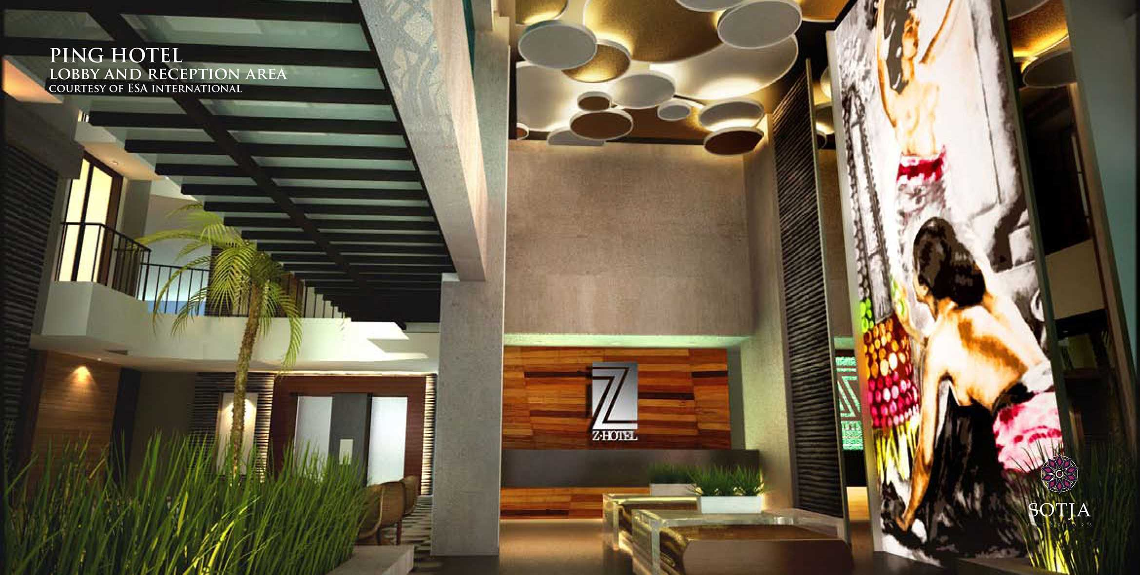 Sotja Interiors Ping Hotel At Seminyak  Bali, Indonesia Bali, Indonesia Lobby-And-Reception-Area   9956