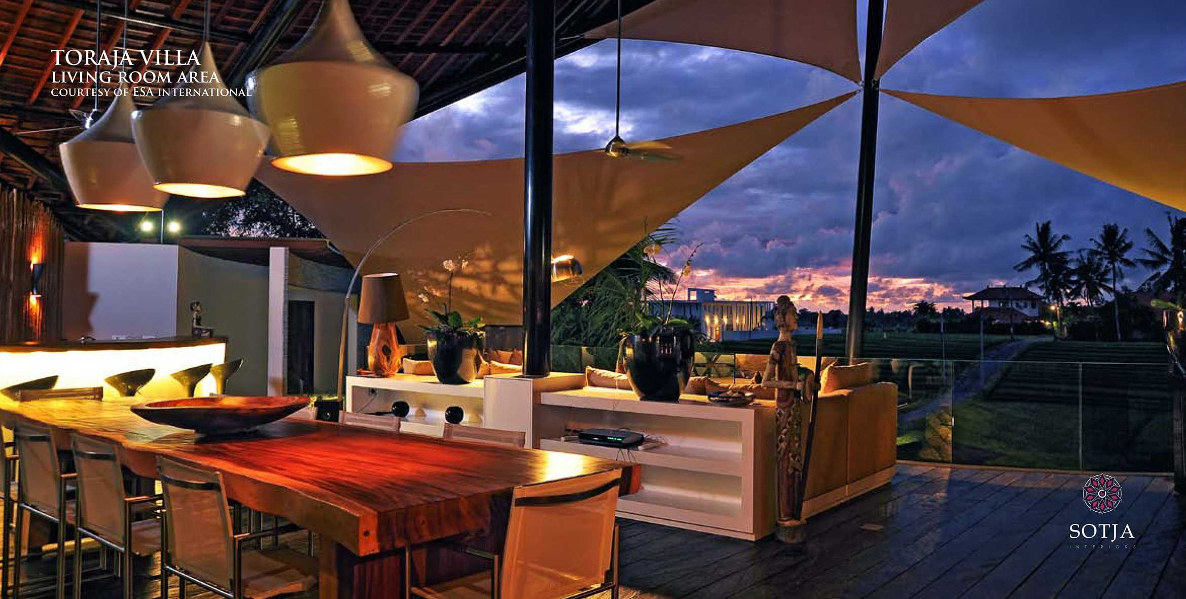 Sotja Interiors Toraja Villa At Canggu Bali, Indonesia Bali, Indonesia Living-Room-Area Tradisional  9971