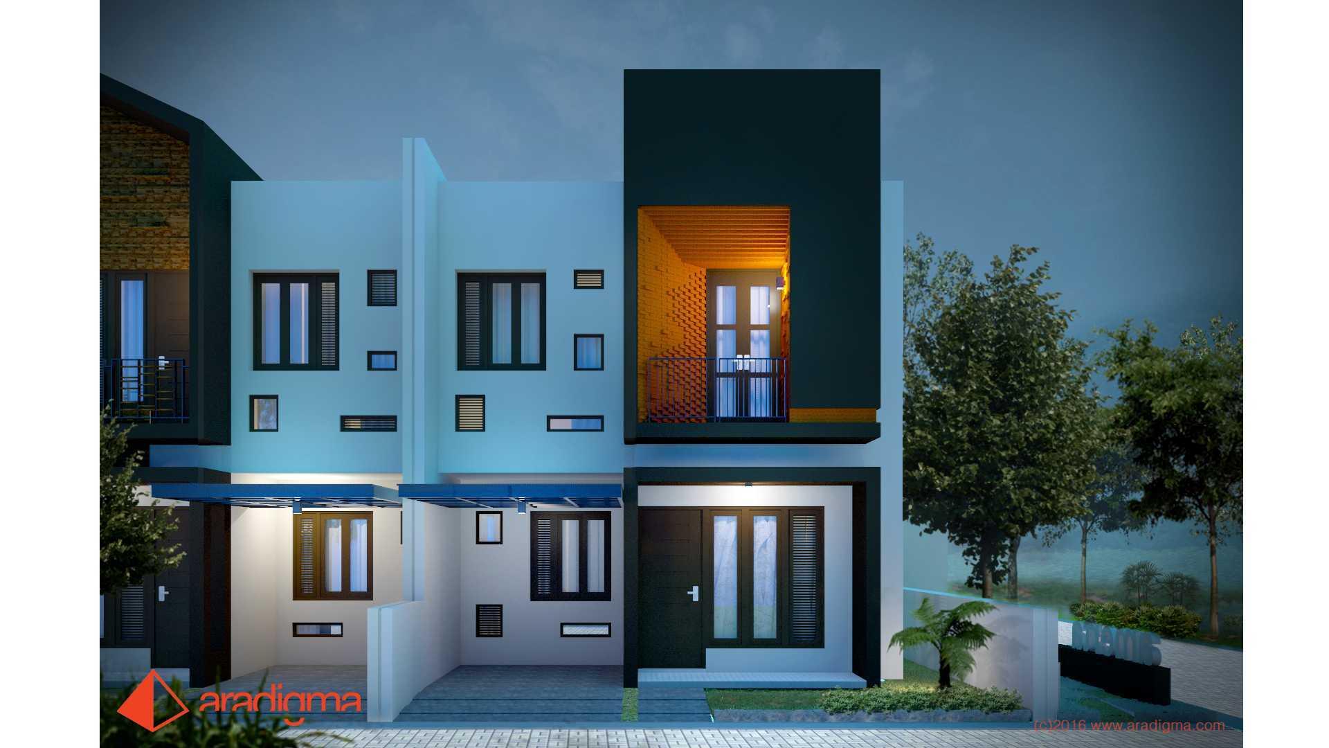 Aradigma Rumah Bima Malang Malang Front View Tropis,minimalis,kontemporer <P>Desain Menarik Dengan Permainan Bidang, Massa Bangunan Dan Material</p> 20103