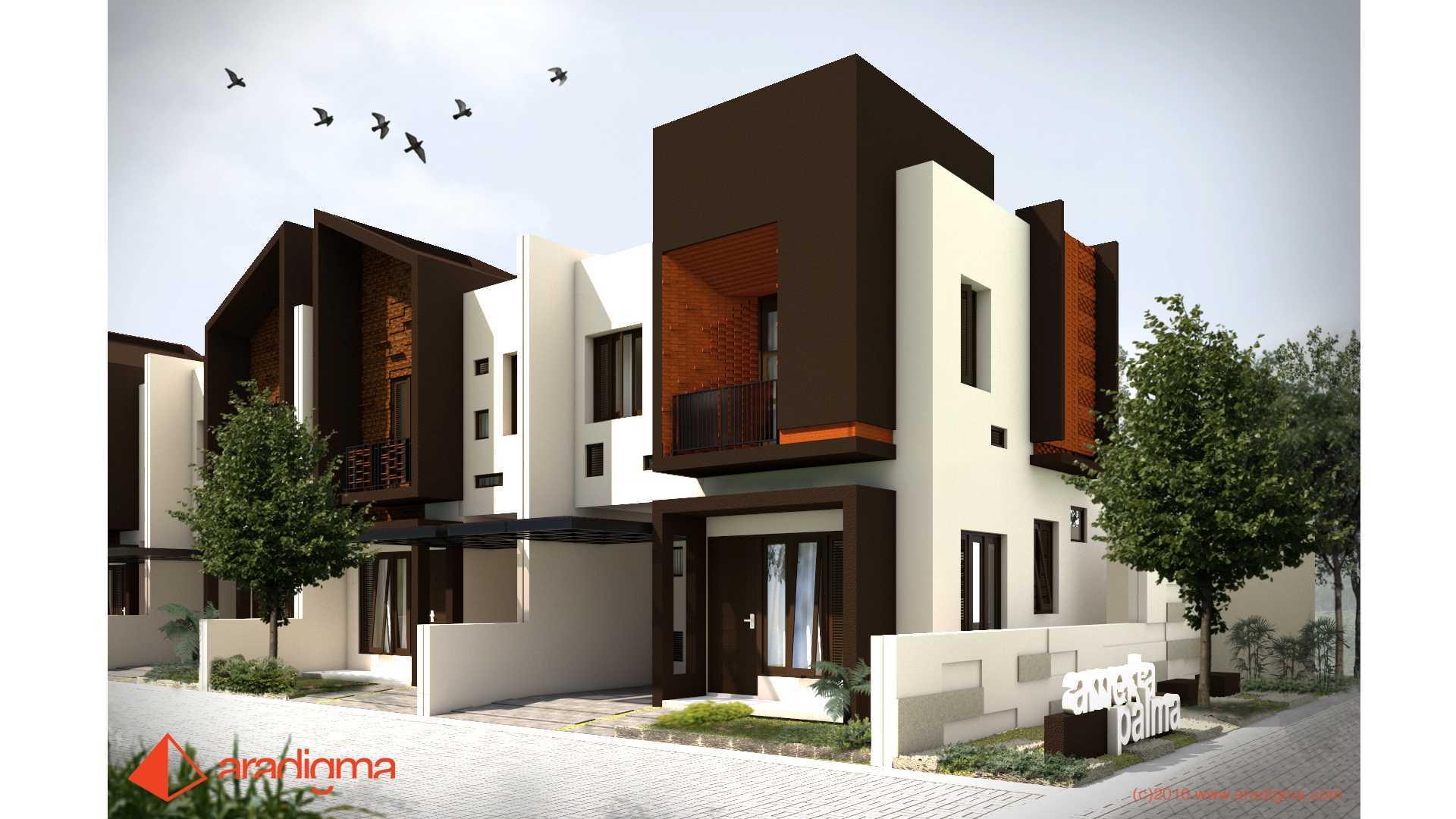 Aradigma Rumah Bima Malang Malang Side View Tropis,minimalis,kontemporer Desain Menarik Dengan Permainan Bidang, Massa Bangunan Dan Material 20104