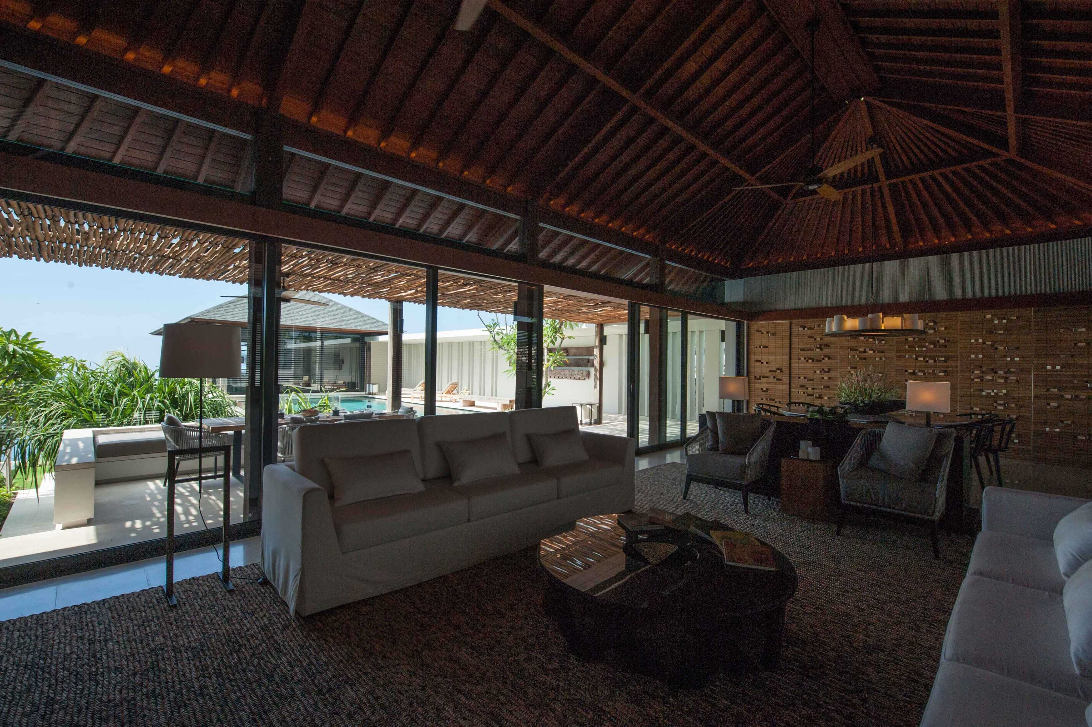 A & Partners Karang Saujana Bali Bali Living Room Contemporary  9290