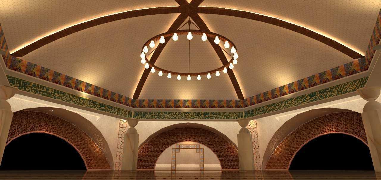 Egalite Masjid Smb Ii Bandara Palembang Bandara Palembang Ceiling-1   15486