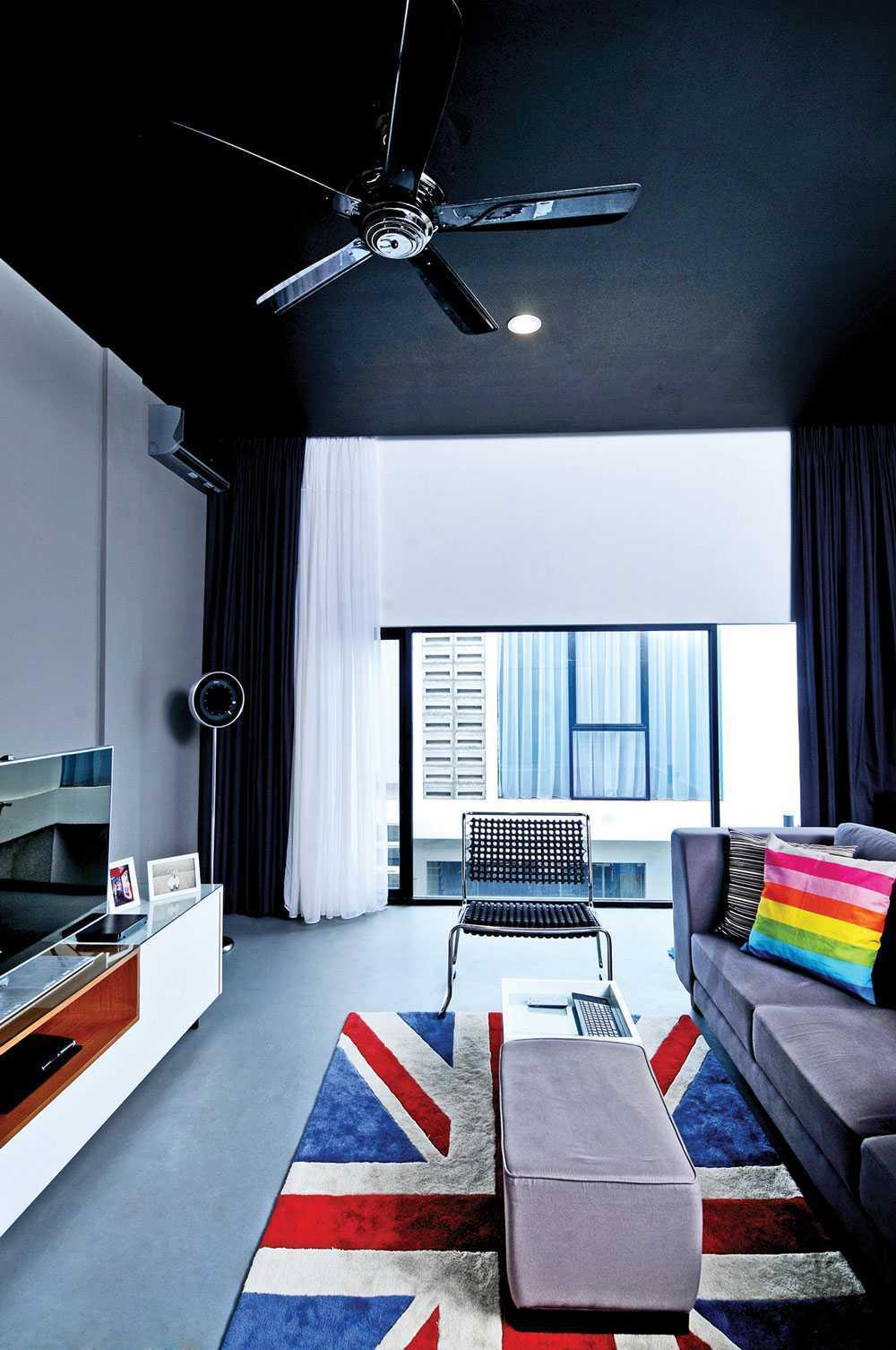 Vindo Design Urban Pop House Jakarta, Indonesia Jakarta, Indonesia Livingroom Minimalis  9257