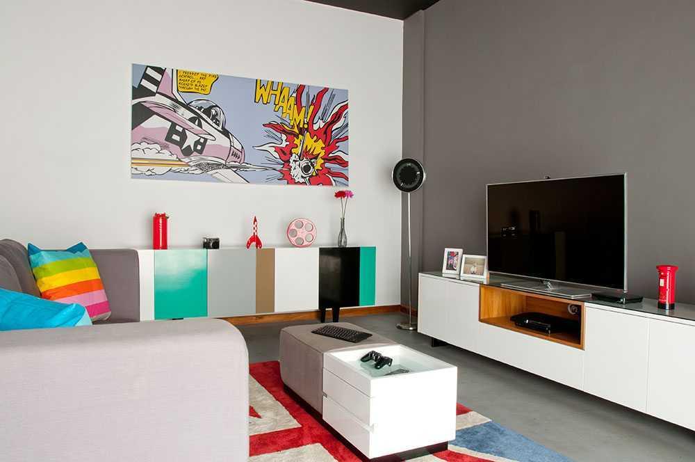 Vindo Design Urban Pop House Jakarta, Indonesia Jakarta, Indonesia Livingroom Minimalis  9258