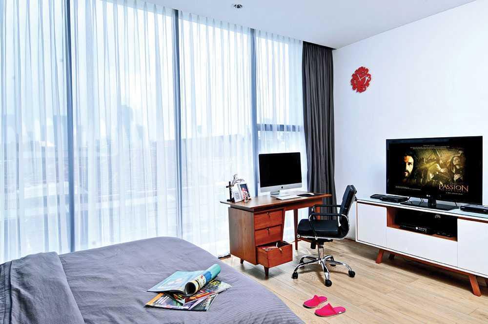 Vindo Design Urban Pop House Jakarta, Indonesia Jakarta, Indonesia Bedroom Minimalis  9260
