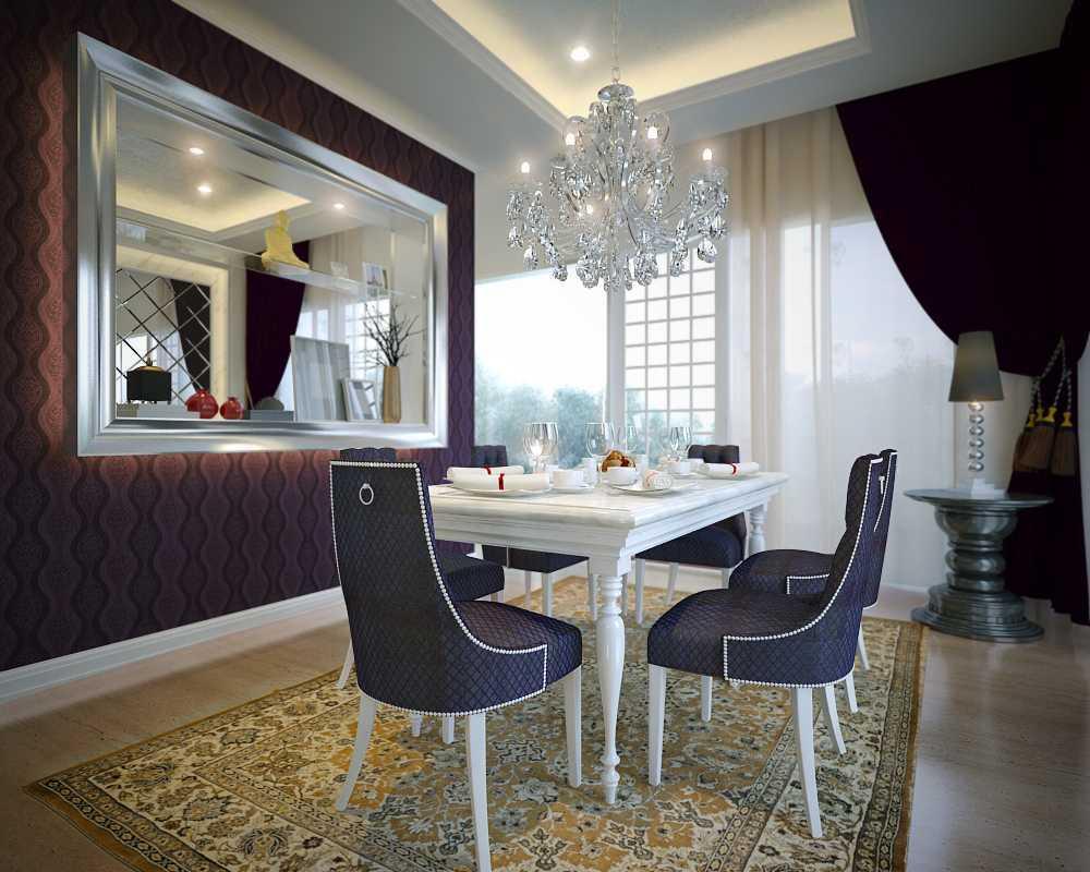 Hungary Interior Residence At Floraya Surabaya, Indonesia Surabaya, Indonesia Dining Room   9303