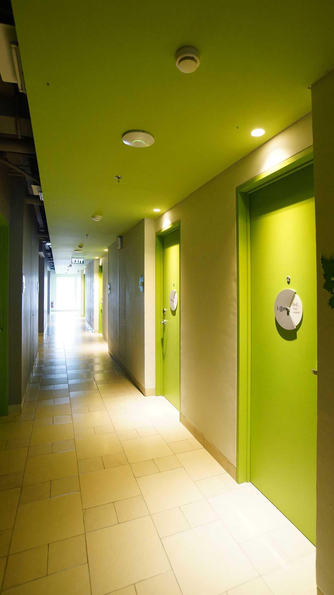 Pt. Atelier Una Indonesia Maxone Hotel Pemuda Jakarta, Indonesia Jakarta, Indonesia Corridor   9494