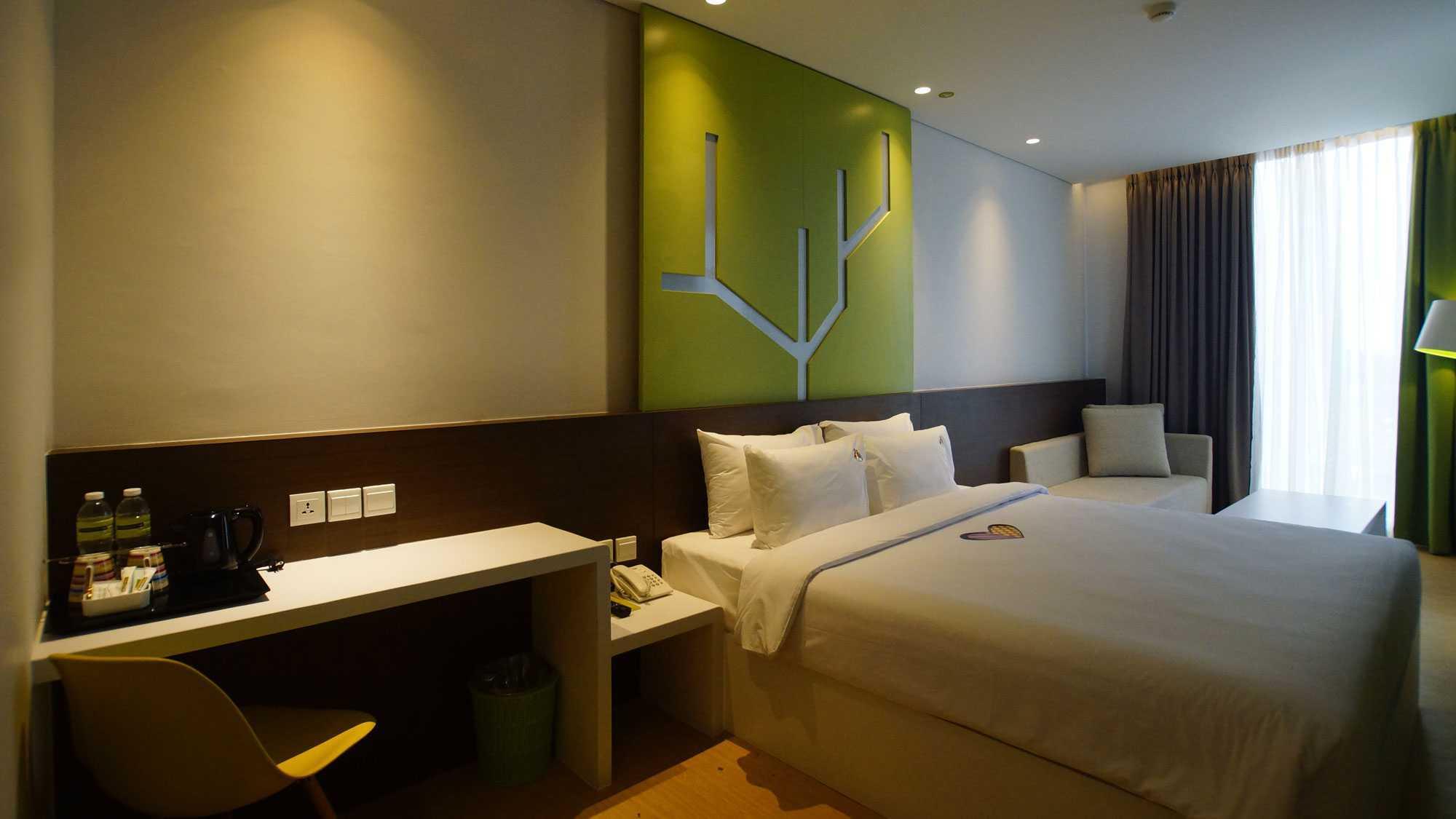 Pt.  Atelier Una Indonesia Maxone Hotel Pemuda Jakarta, Indonesia Jakarta, Indonesia Bedroom   9495