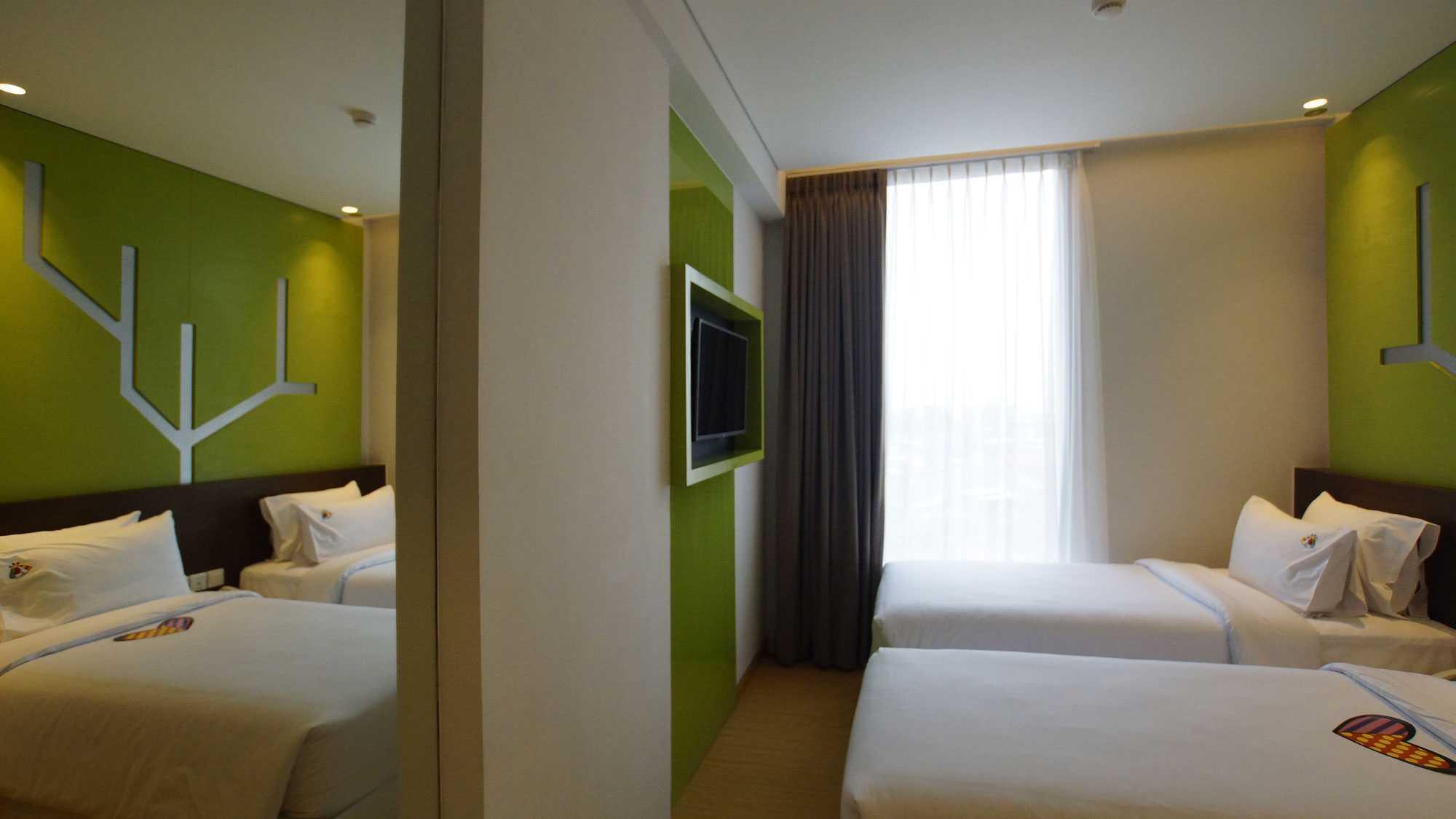 Pt. Atelier Una Indonesia Maxone Hotel Pemuda Jakarta, Indonesia Jakarta, Indonesia Bedroom   9496