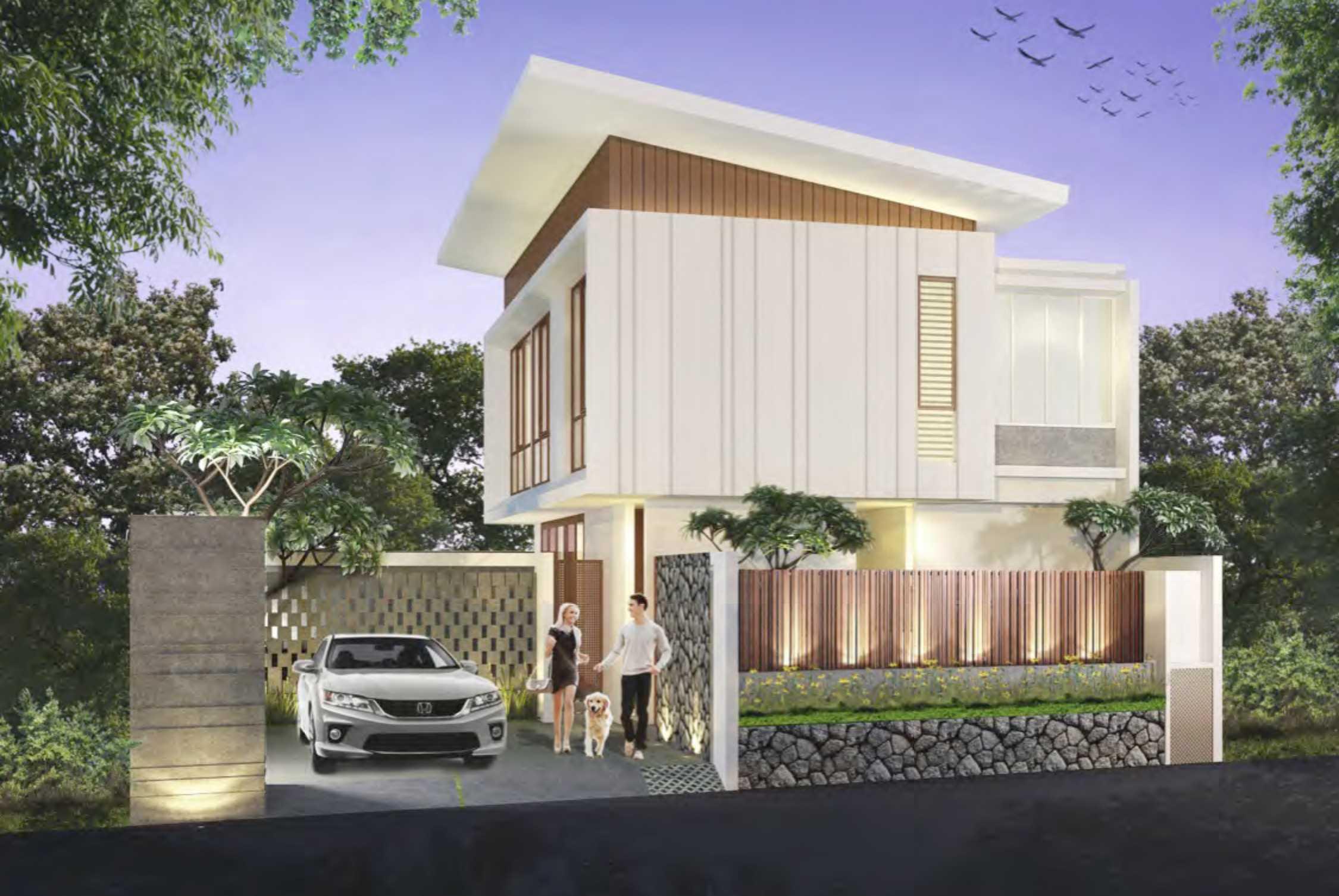 Nimara Architects  Damai House Yogyakarta, Indonesia Yogyakarta, Indonesia Front-View   10790