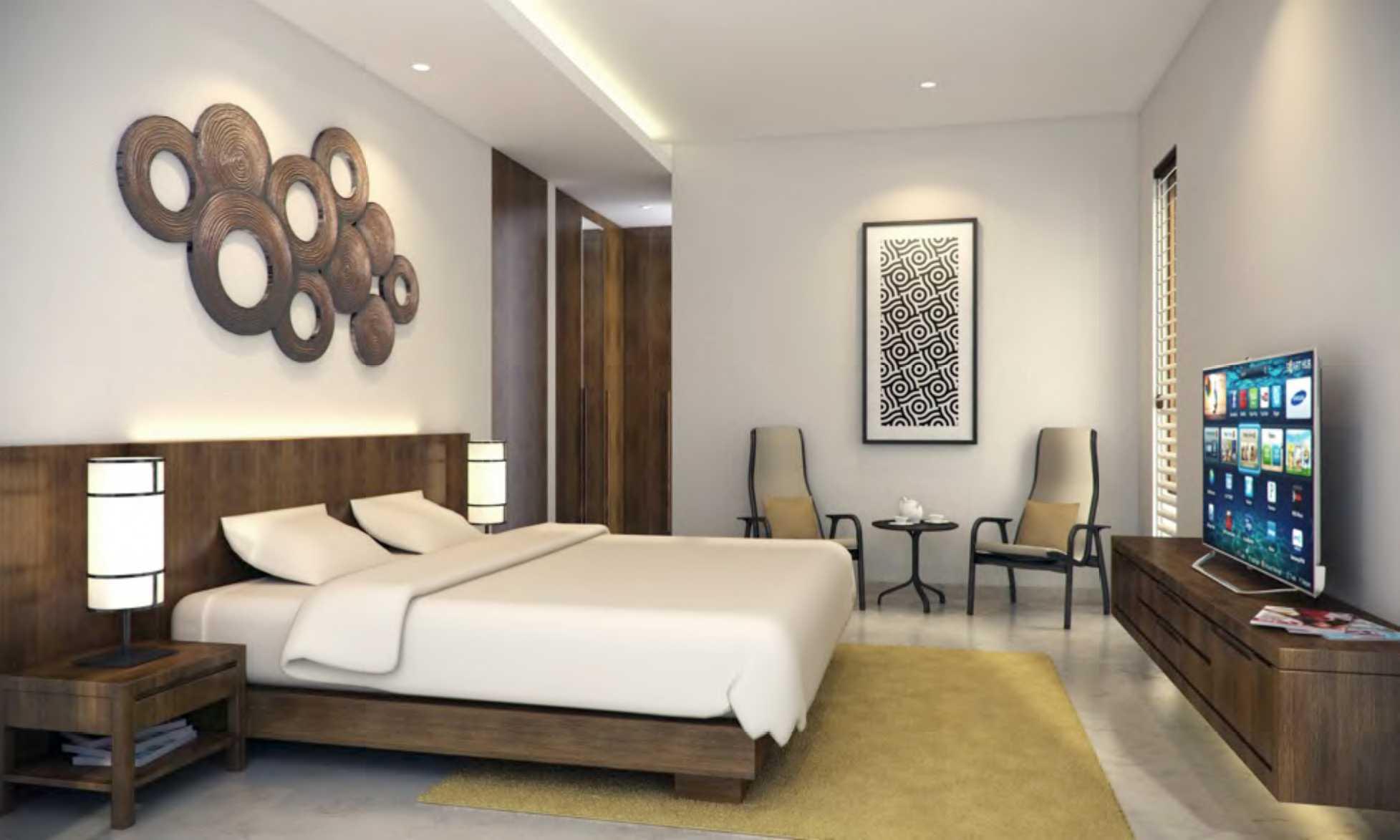 Nimara Architects  Damai House Yogyakarta, Indonesia Yogyakarta, Indonesia Bedroom   10792