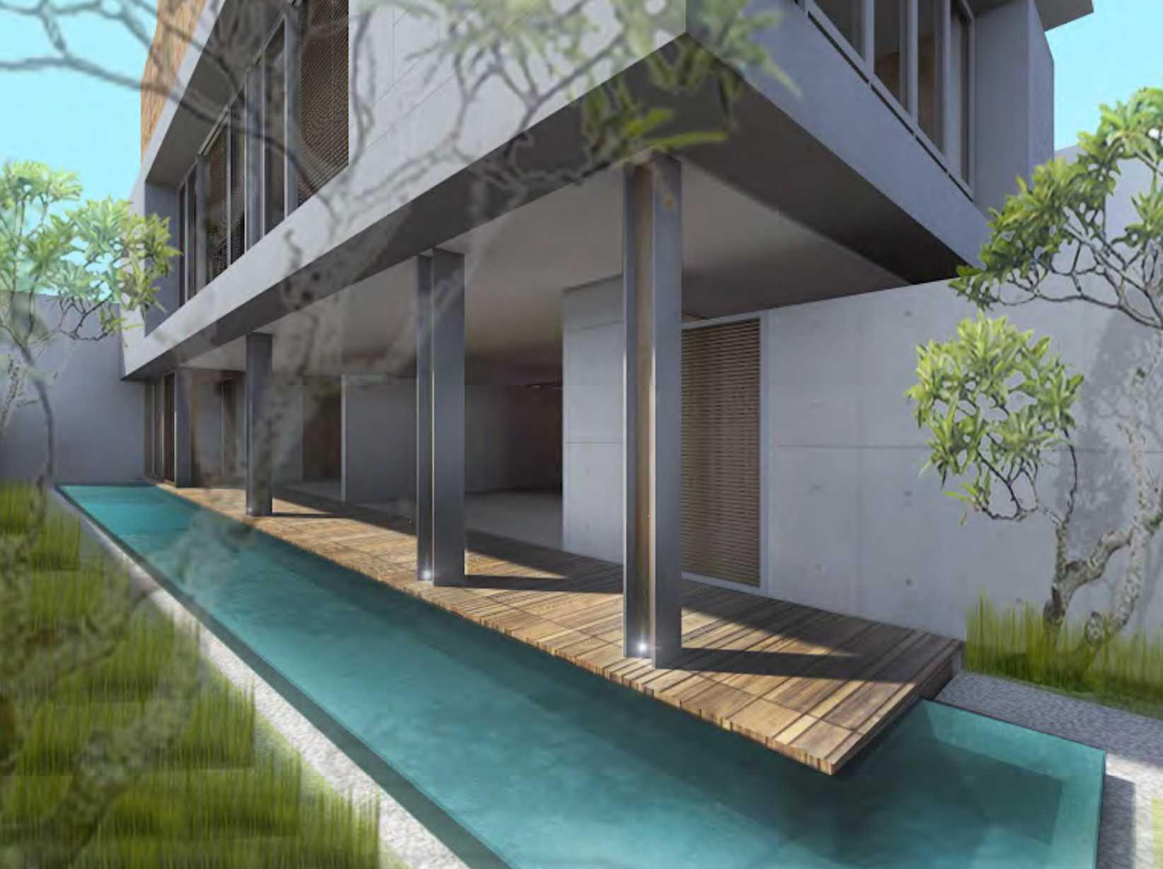 Nimara Architects  Dh Modern House Jakarta, Indonesia Jakarta, Indonesia Swimming-Pool Modern  10798