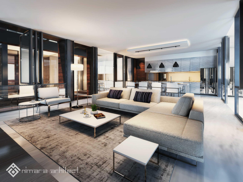 Nimara Architects  Dh House Jakarta Barat Jakarta Barat Living-Room-Credit Kontemporer,minimalis,modern  17001
