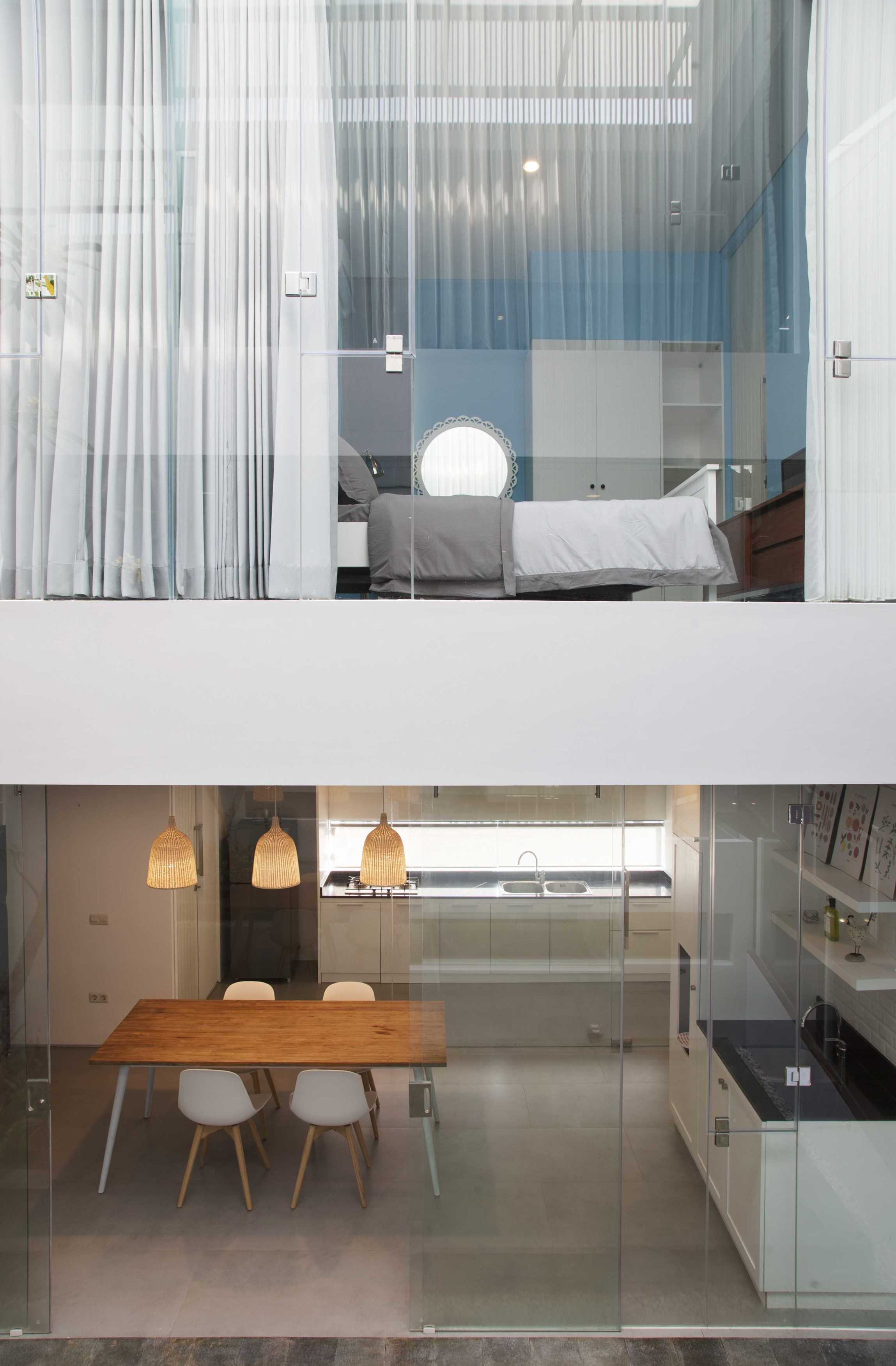 Das Quadrat Sutorejo House Surabaya, East Java, Indonesia Surabaya, East Java, Indonesia 1St And 2Nd Floor View Modern  9383