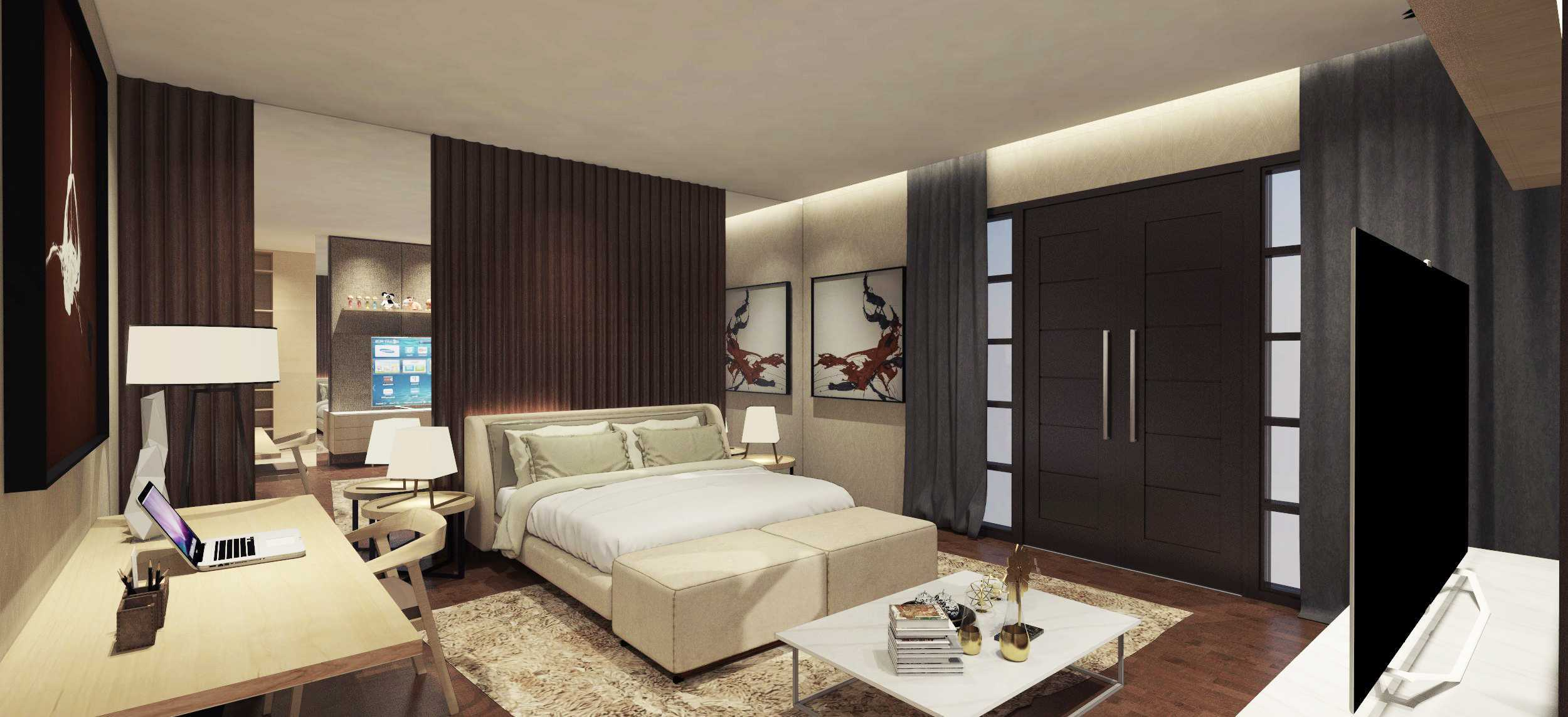 Ari Wibowo Design (Aw.d) Aw House Makassar, Makassar City, South Sulawesi, Indonesia Makassar Bedroom Modern  9418