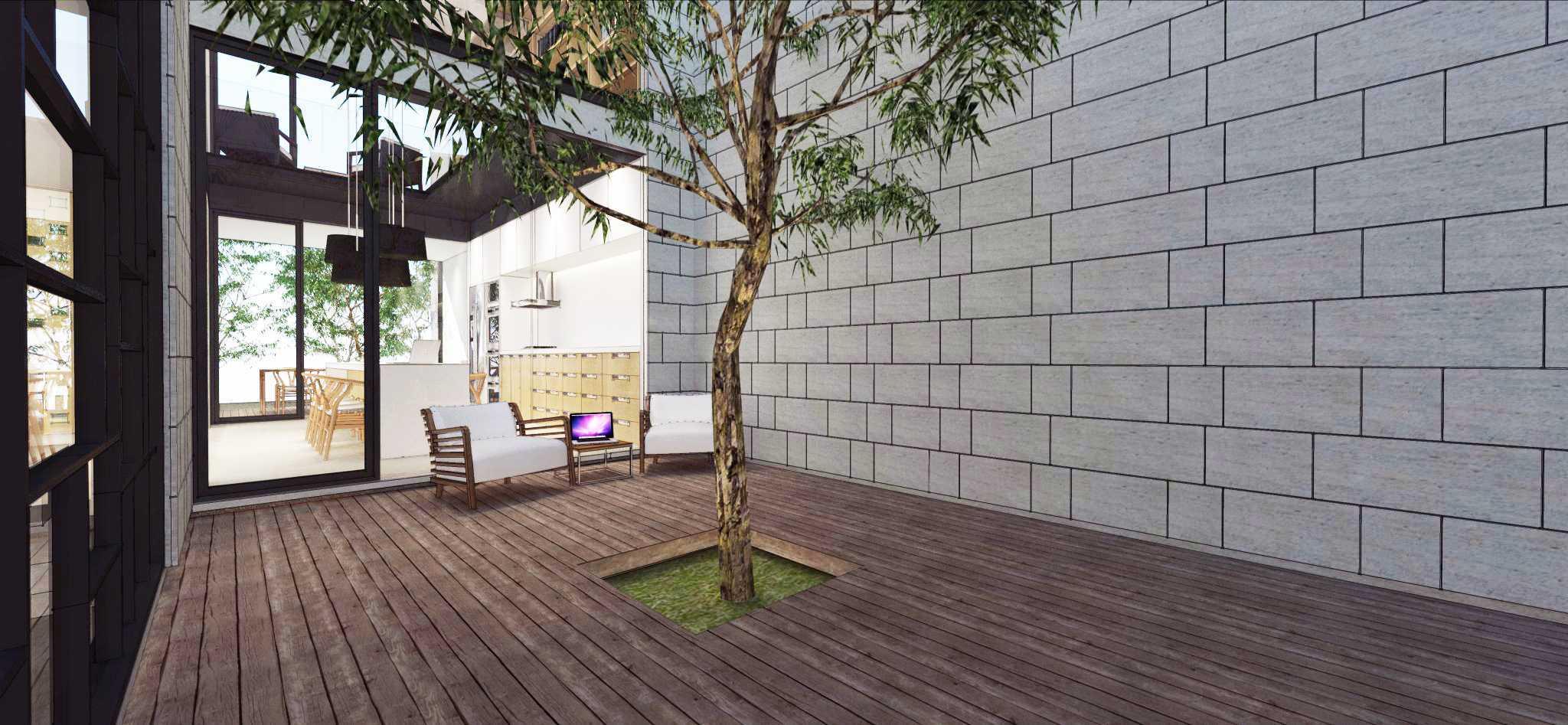 Ari Wibowo Design (Aw.d) Rk House Jakarta, Indonesia - Terrace Modern  14525