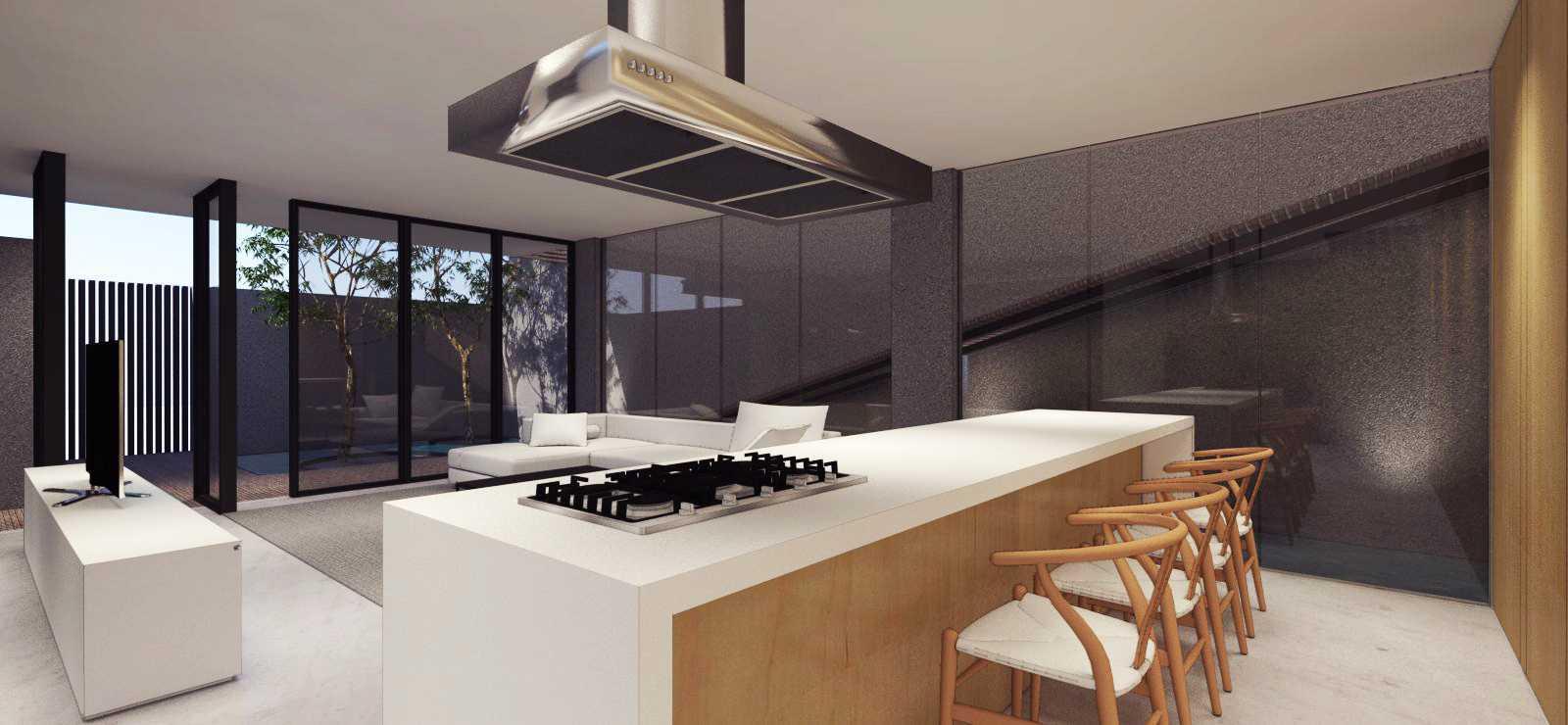 Ari Wibowo Design (Aw.d) Sn House Banten Banten Kitchen Modern  14531
