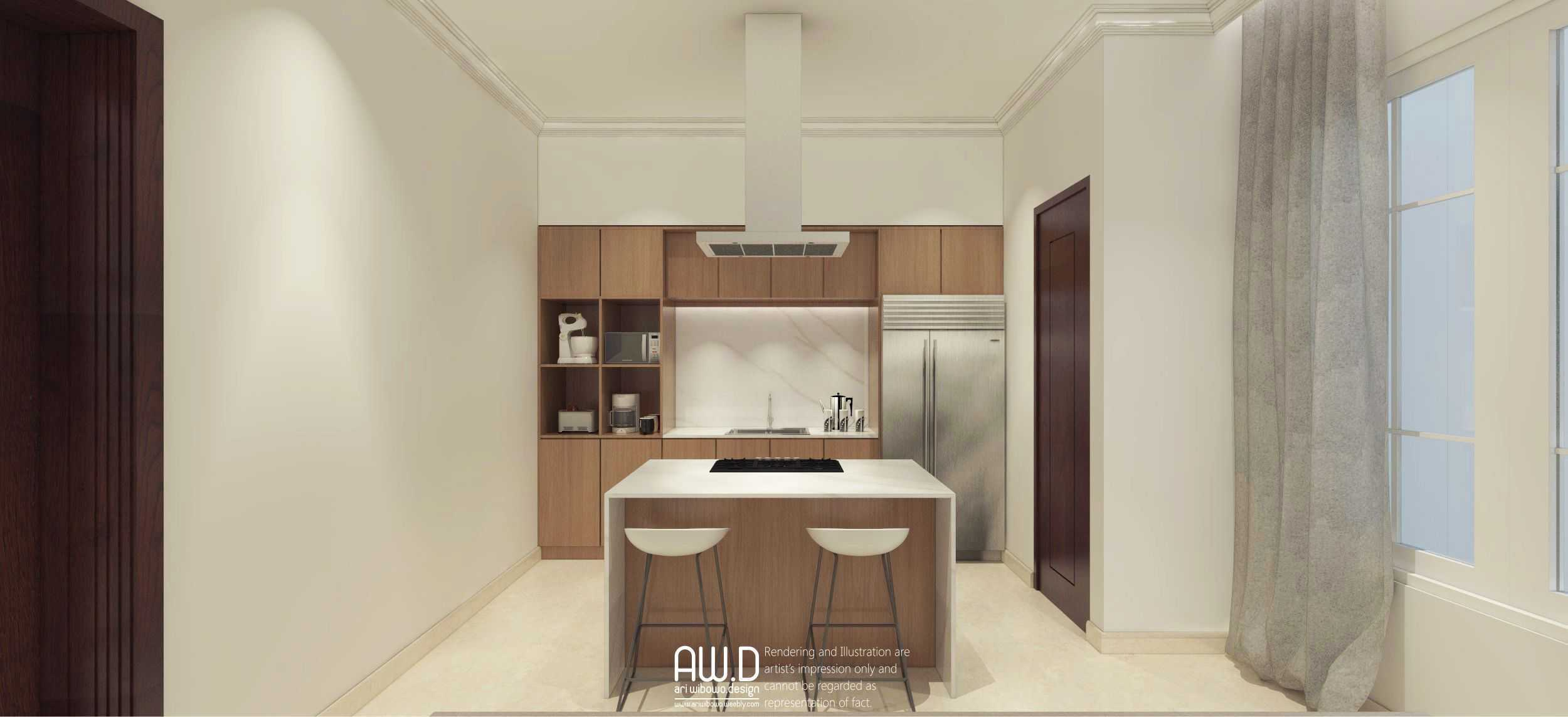 Ari Wibowo Design (Aw.d) Hw House Makassar Makassar Kitchen Area Klasik,modern  19866