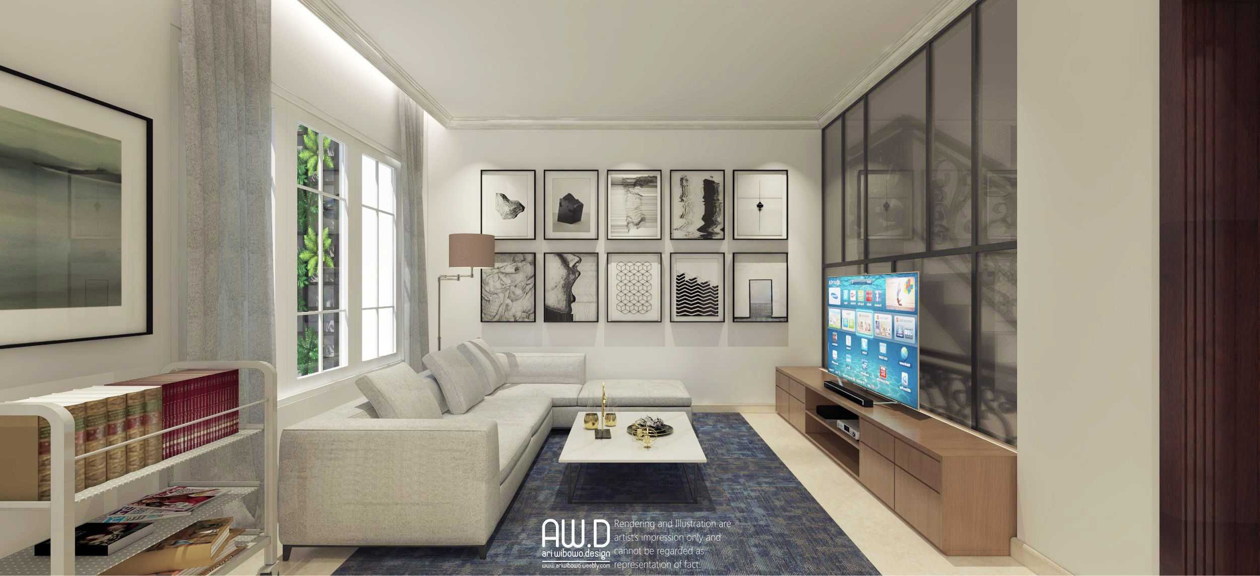 Ari Wibowo Design (Aw.d) Hw House Makassar Makassar Livingroom Klasik,modern  19867