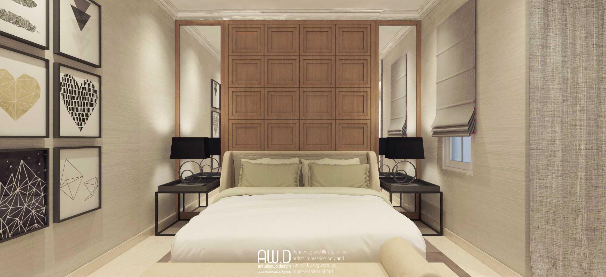 Ari Wibowo Design (Aw.d) Hw House Makassar Makassar Bedroom Klasik,modern  19872