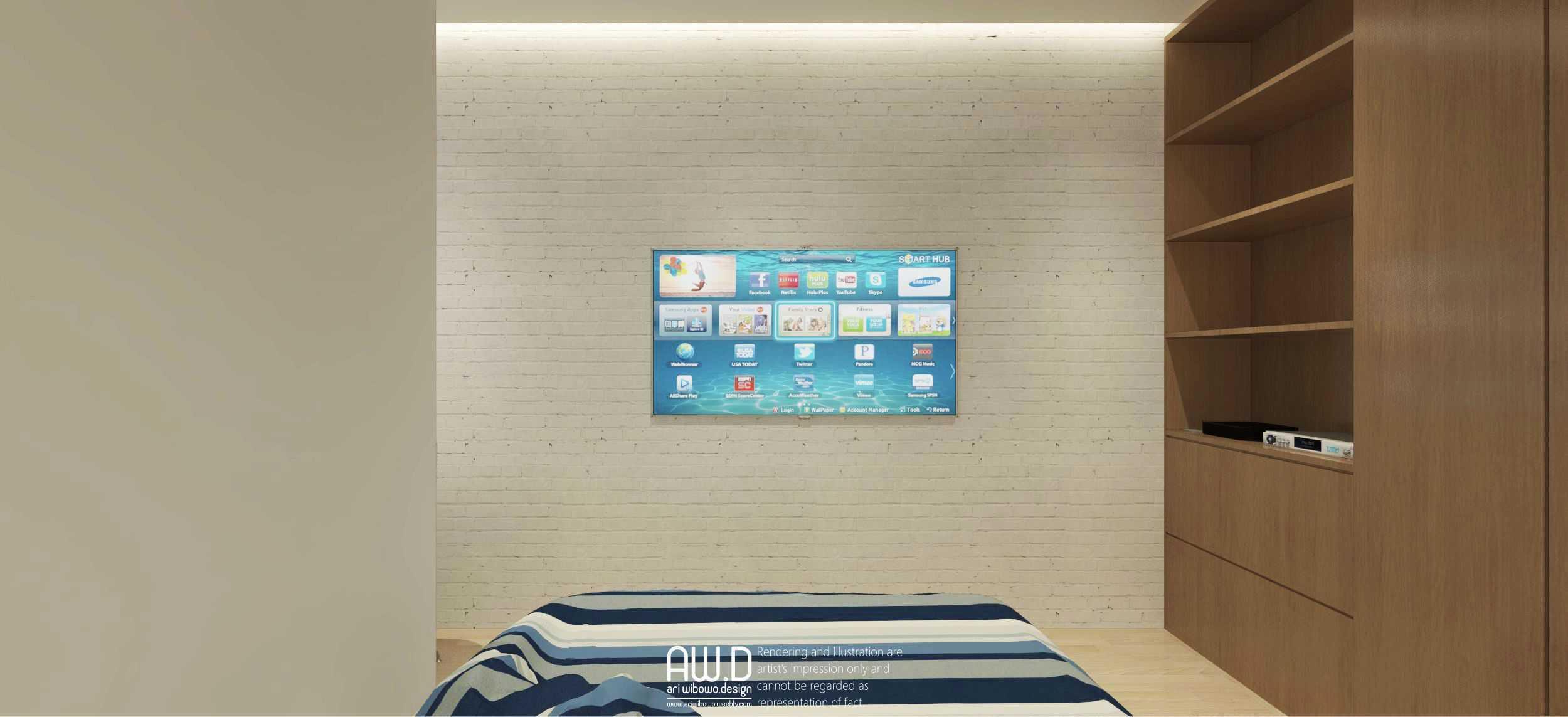 Ari Wibowo Design (Aw.d) K Apartment Jakarta Jakarta Bedroom Modern  21152