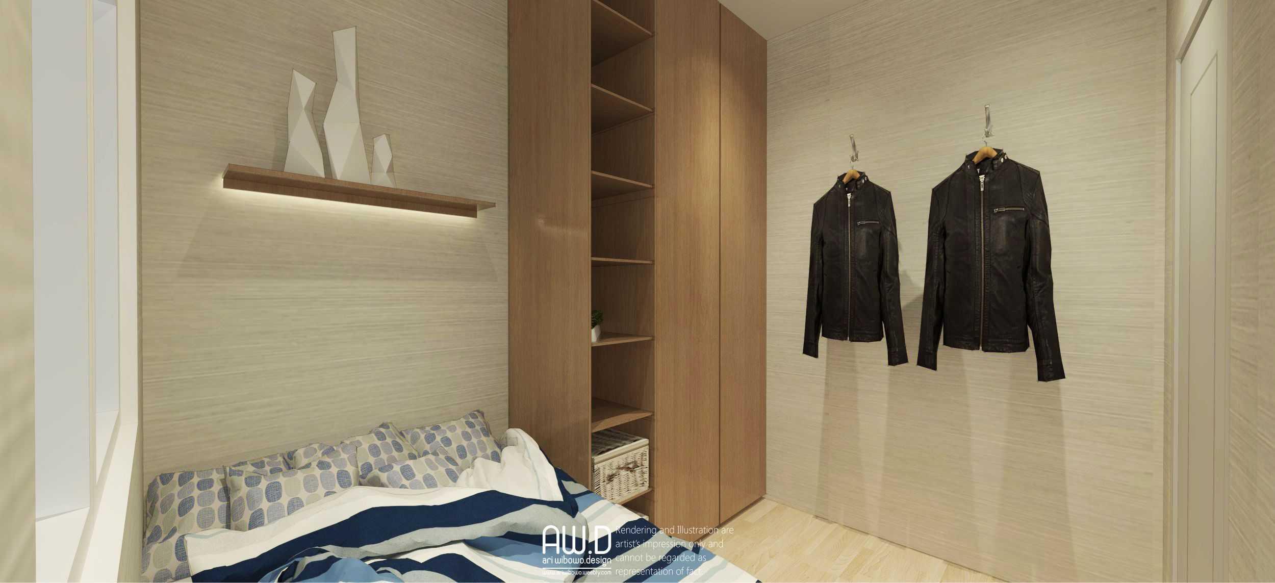 Ari Wibowo Design (Aw.d) K Apartment Jakarta Jakarta Bedroom Modern  21155