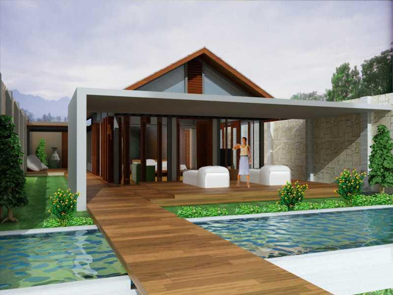 Jerry M. Febrino Villa & Spa Bogor Bogor Terrace   9651