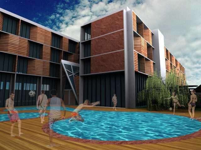 Jerry M. Febrino Hotel Tanjungpinang, Kota Tanjung Pinang, Kepulauan Riau, Indonesia Tanjung Pinang Swimming Pool Modern  14905