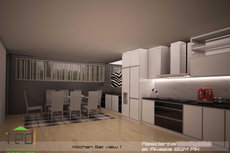 Pd Teguh Desain Indonesia Residential At Akasia Jakarta Jakarta Kitchen-Set-View-1-1 Modern  27639
