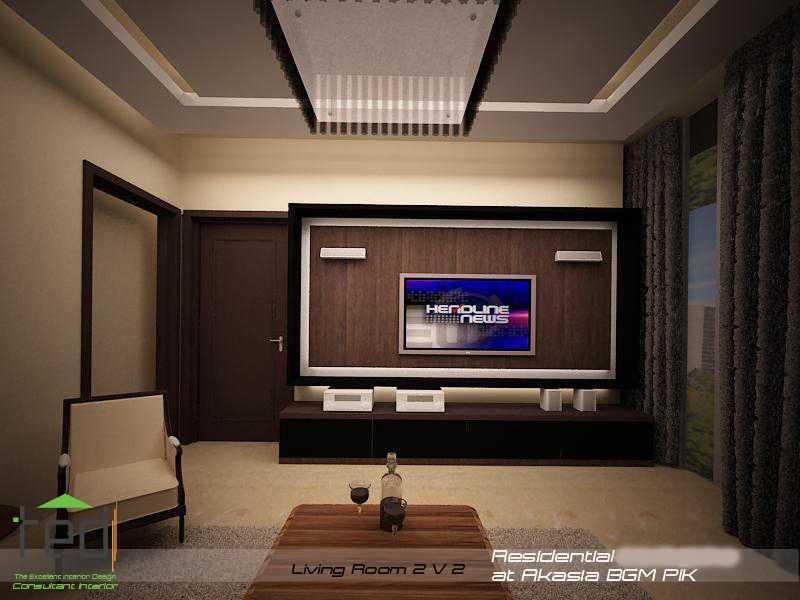 Pd Teguh Desain Indonesia Residential At Akasia Jakarta Jakarta Living-Room-2-V-2-1 Modern  27640