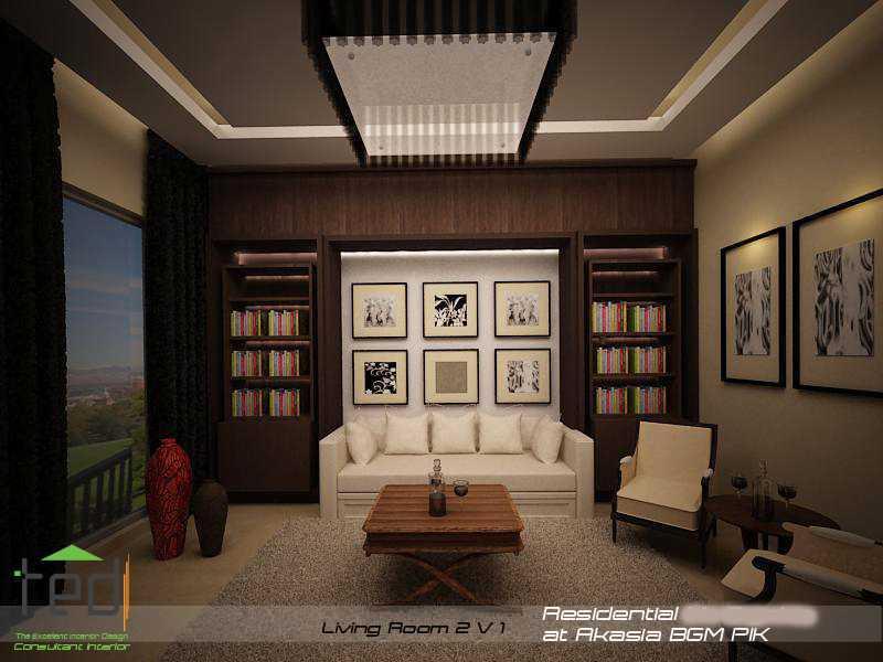 Pd Teguh Desain Indonesia Residential At Akasia Jakarta Jakarta Living-Room-2-V-1-1 Modern  27641