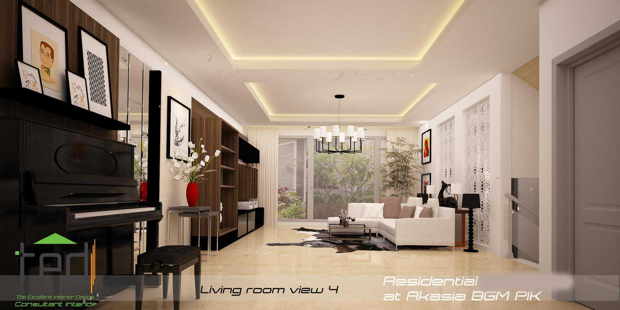 Pd Teguh Desain Indonesia Residential At Akasia Jakarta Jakarta Living-Room-View-4-1 Modern  27643