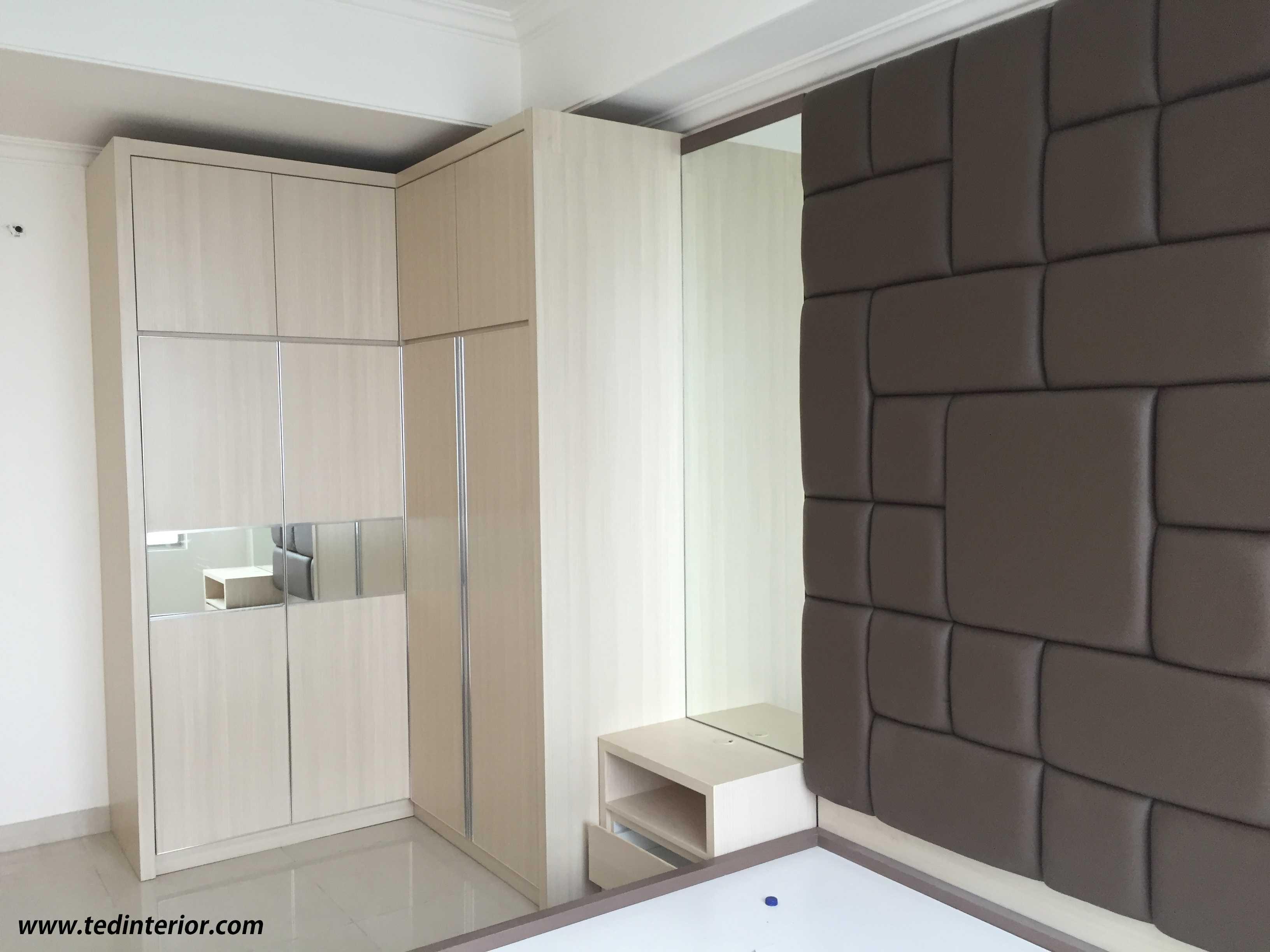 Pd Teguh Desain Indonesia Apartment Kuningan City Jakarta, Indonesia Jakarta, Indonesia Master-Bedroom-1 Modern  34861
