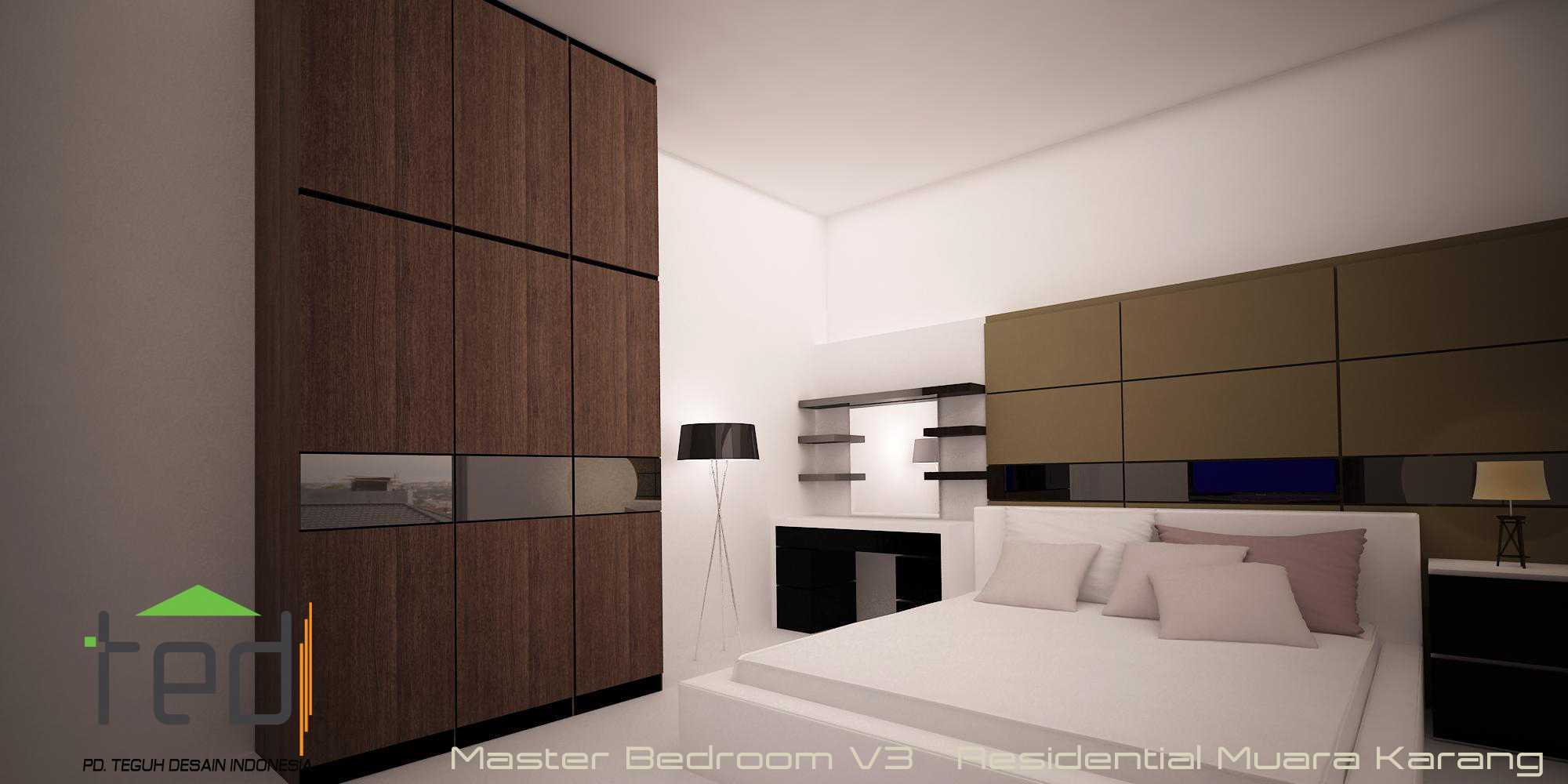 Pd Teguh Desain Indonesia Muara Karang Residence Jakarta, Indonesia Jakarta, Indonesia Master-Bedroom-V3 Modern  35114