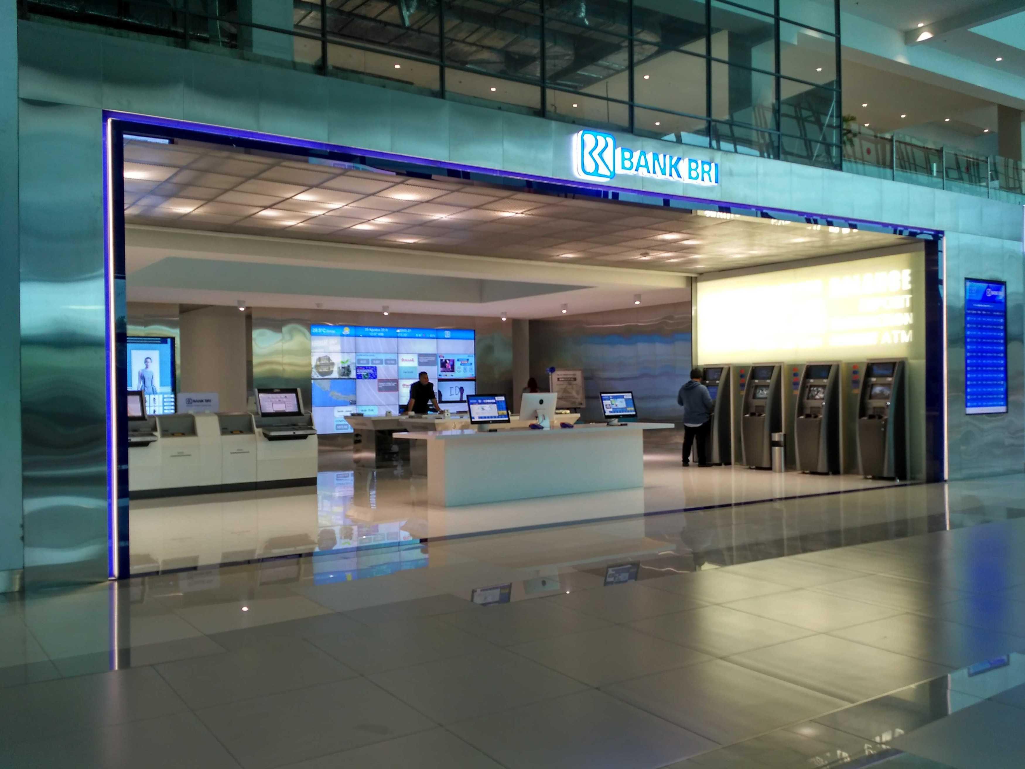 Axon90 The Design Hub Bri Digital Bank Terminal 3 Ultimate, Soekarno Hatta Bandara, Cengkareng Terminal 3 Ultimate, Soekarno Hatta Bandara, Cengkareng Front View Modern  9765