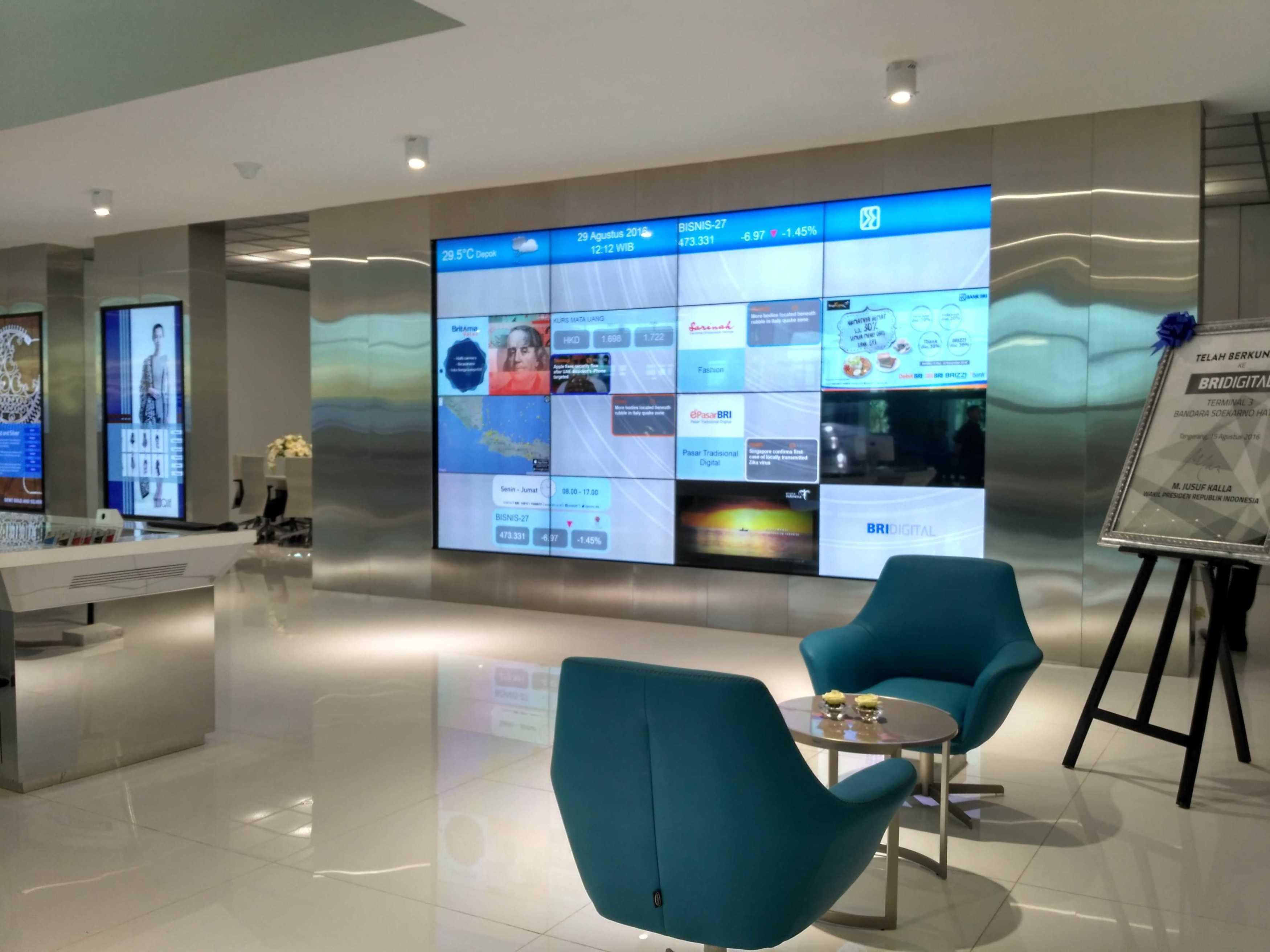 Axon90 The Design Hub Bri Digital Bank Terminal 3 Ultimate, Soekarno Hatta Bandara, Cengkareng Terminal 3 Ultimate, Soekarno Hatta Bandara, Cengkareng Lobby Modern  9768