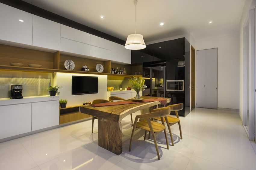 Erwin Kusuma Kbp House Bandung Bandung Kitchen Room Kontemporer  9807