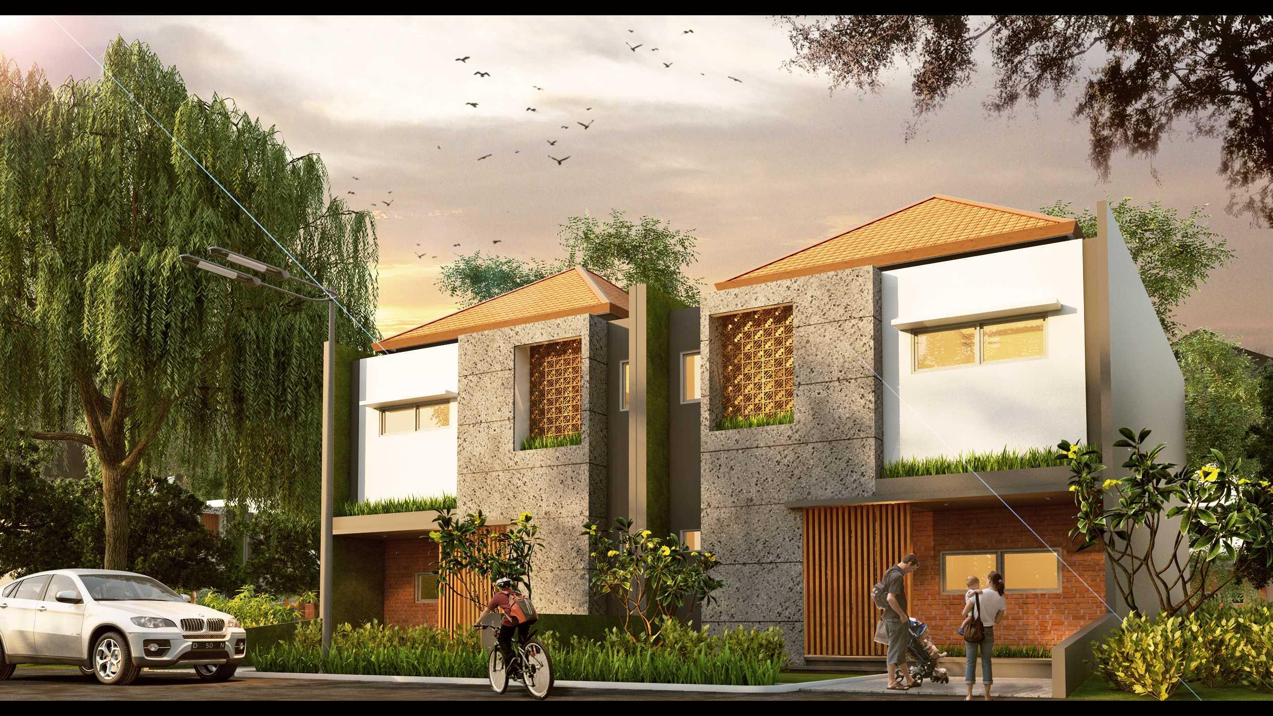 Erwin Kusuma The East Shore Estate Gianyar, Bali Gianyar, Bali Unit Front View Modern  9836