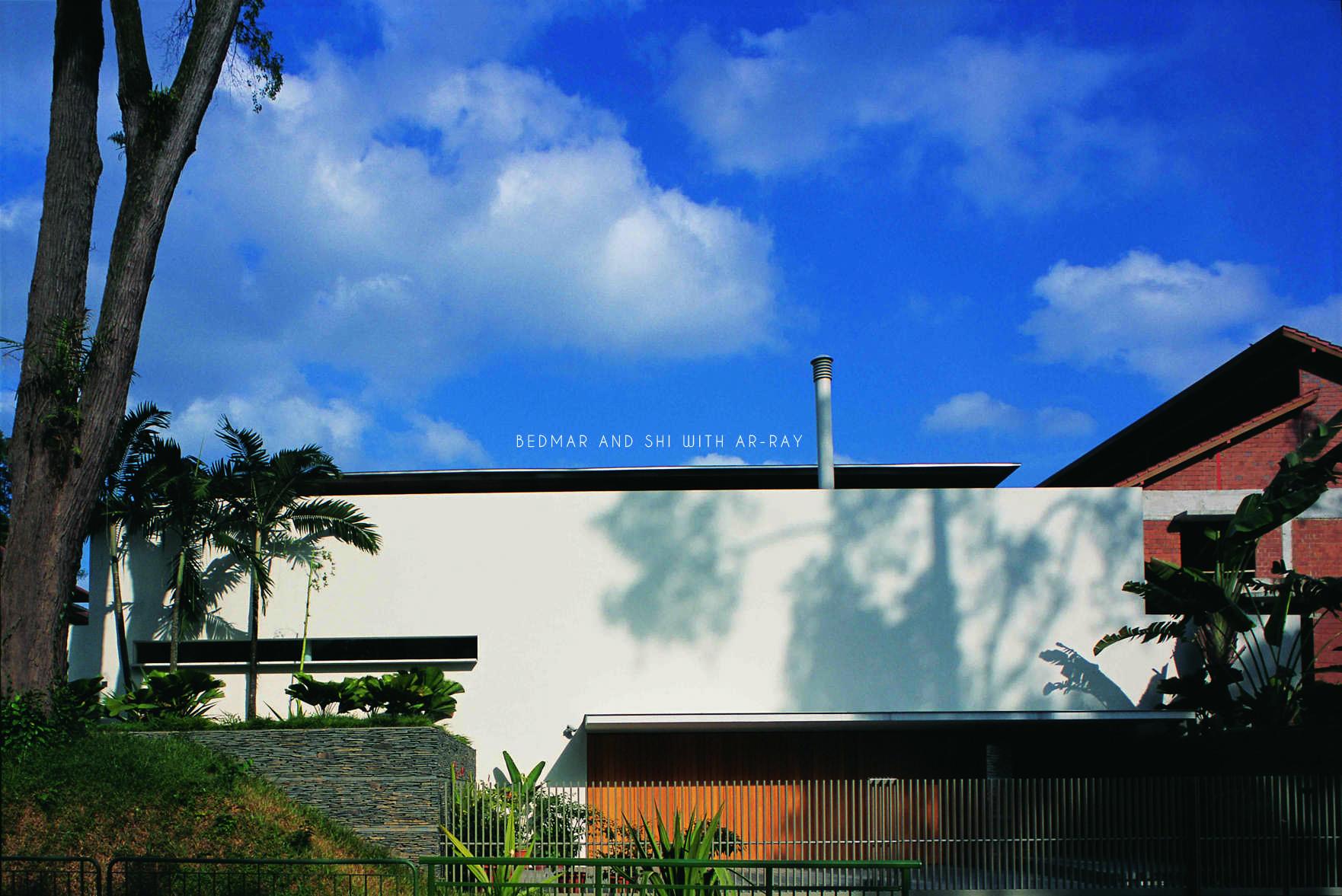 Array Resident @ Jervois Road Jervois, Singapore Jervois, Singapore Front View  Jervois Residential Front Elevation 11783