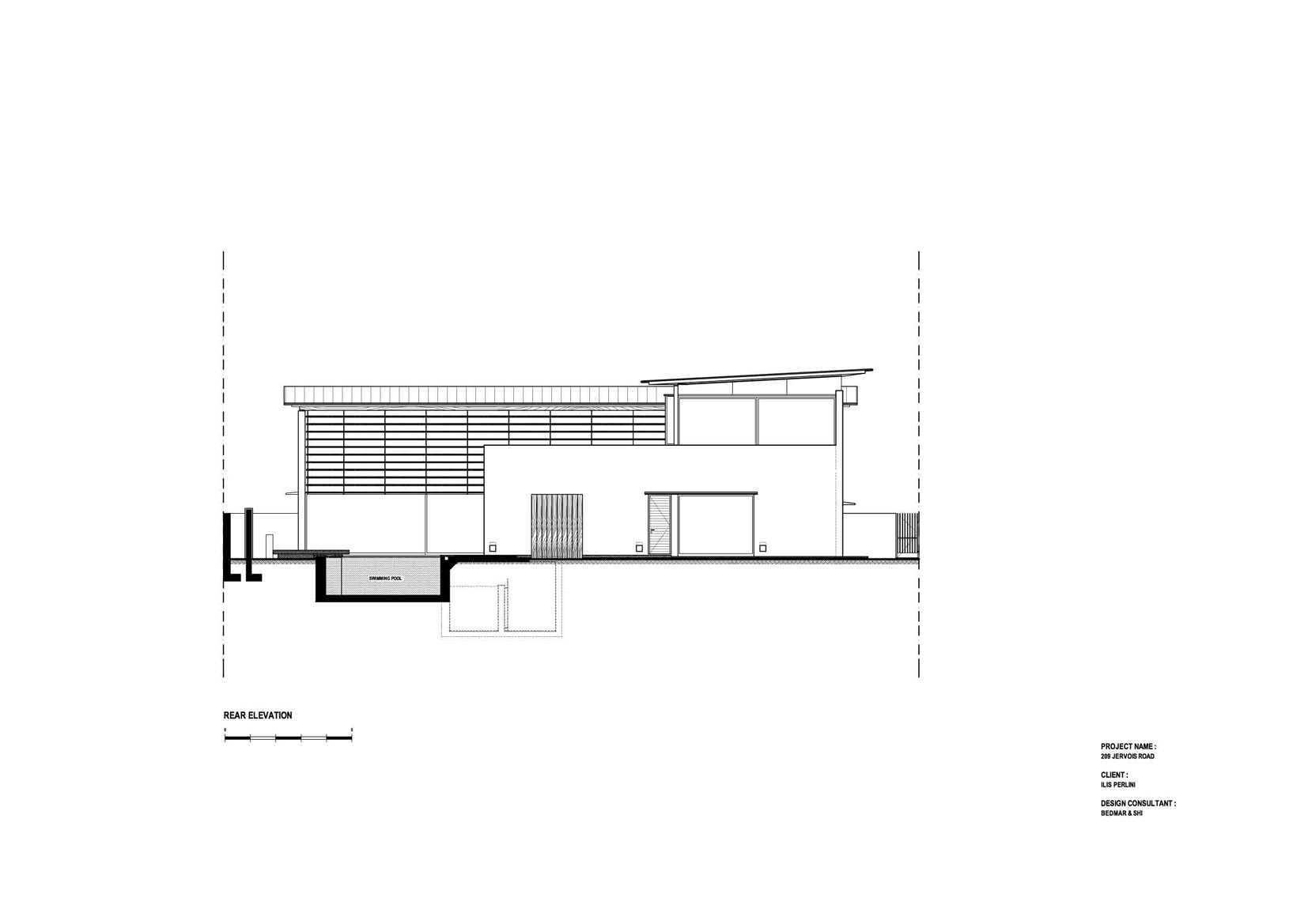 Array Resident @ Jervois Road Jervois, Singapore Jervois, Singapore House-A-Rear-Elevation-Copy   11784