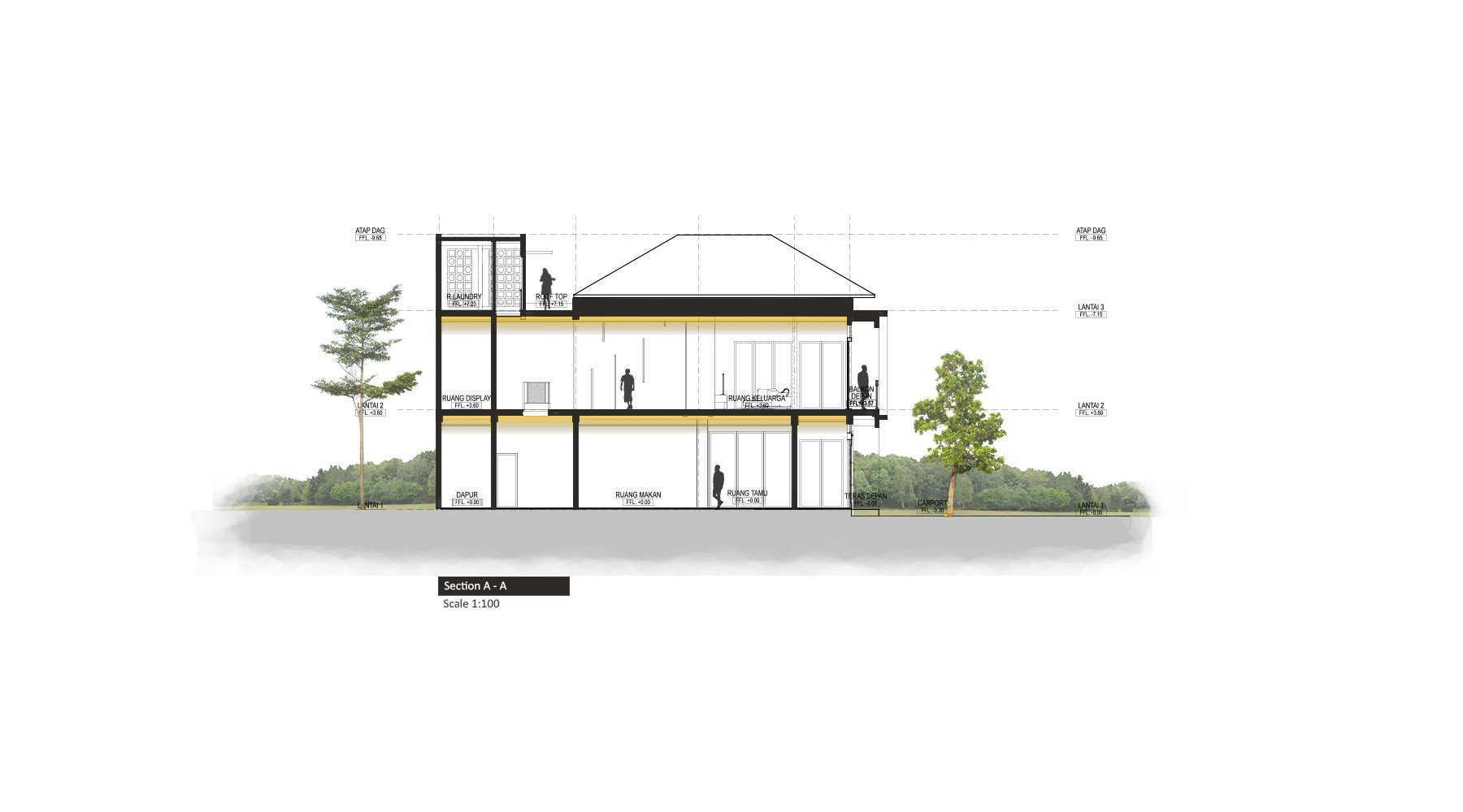 Localic Studio Breathing House Bintaro, Pesanggrahan, South Jakarta City, Jakarta, Indonesia Bintaro Potonga   32329